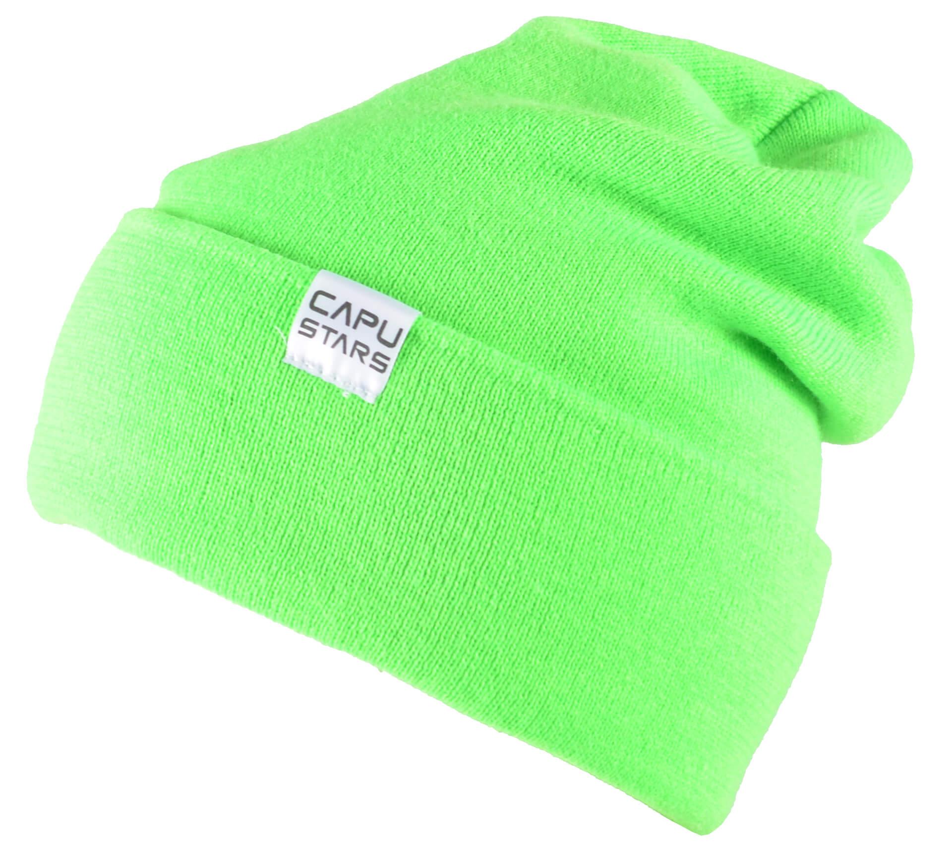 CAPU Téli sapkák Zöld 1736-A  3b79564640