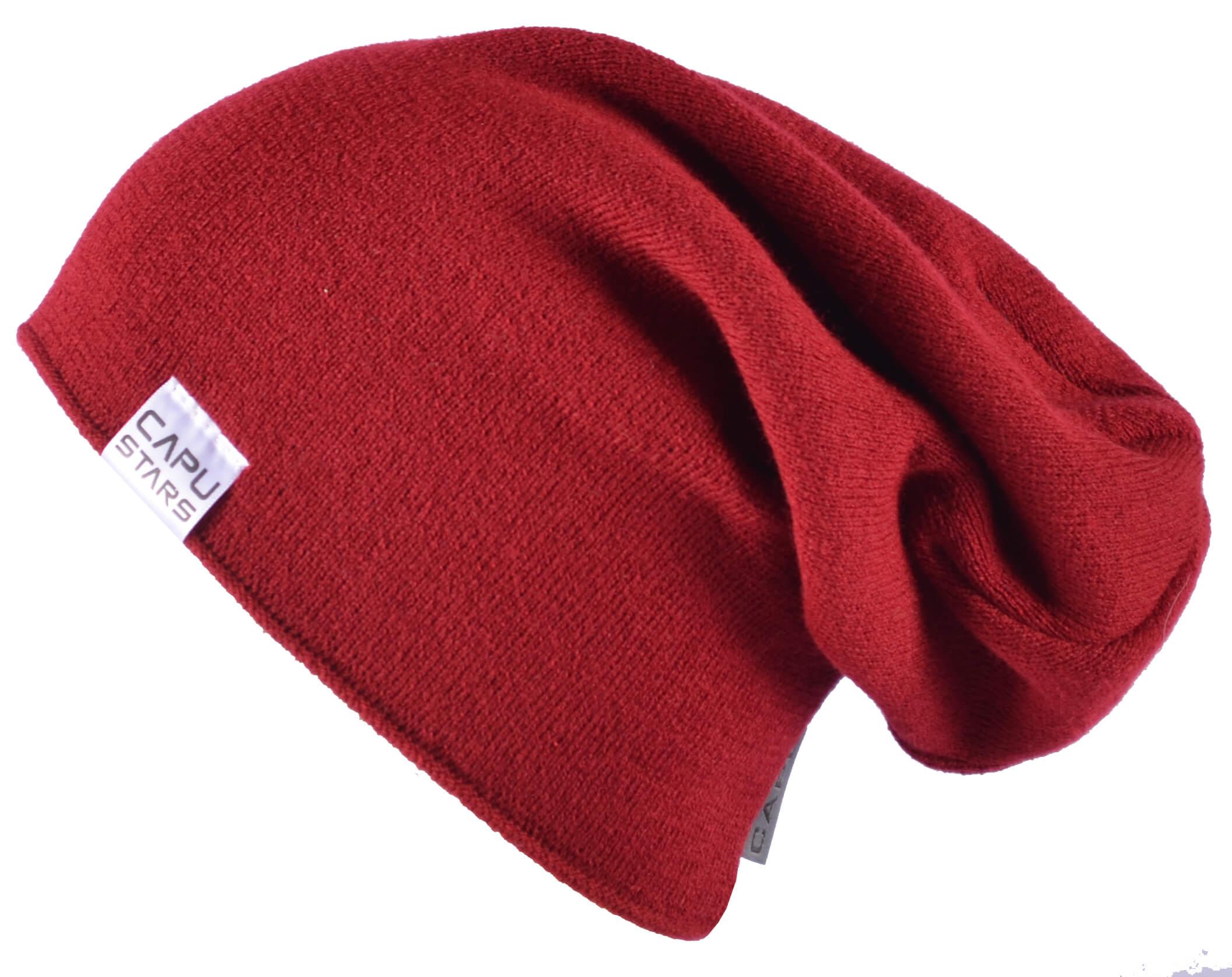 CAPU Téli kalap 1737-D piros  adc0308d04
