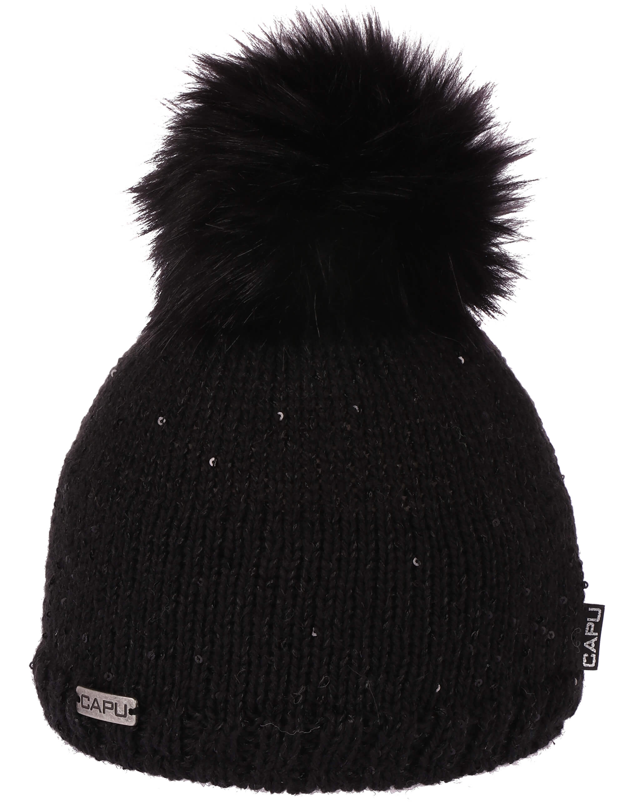 CAPU Zimní čepice 388-A Black  2869fff0a2