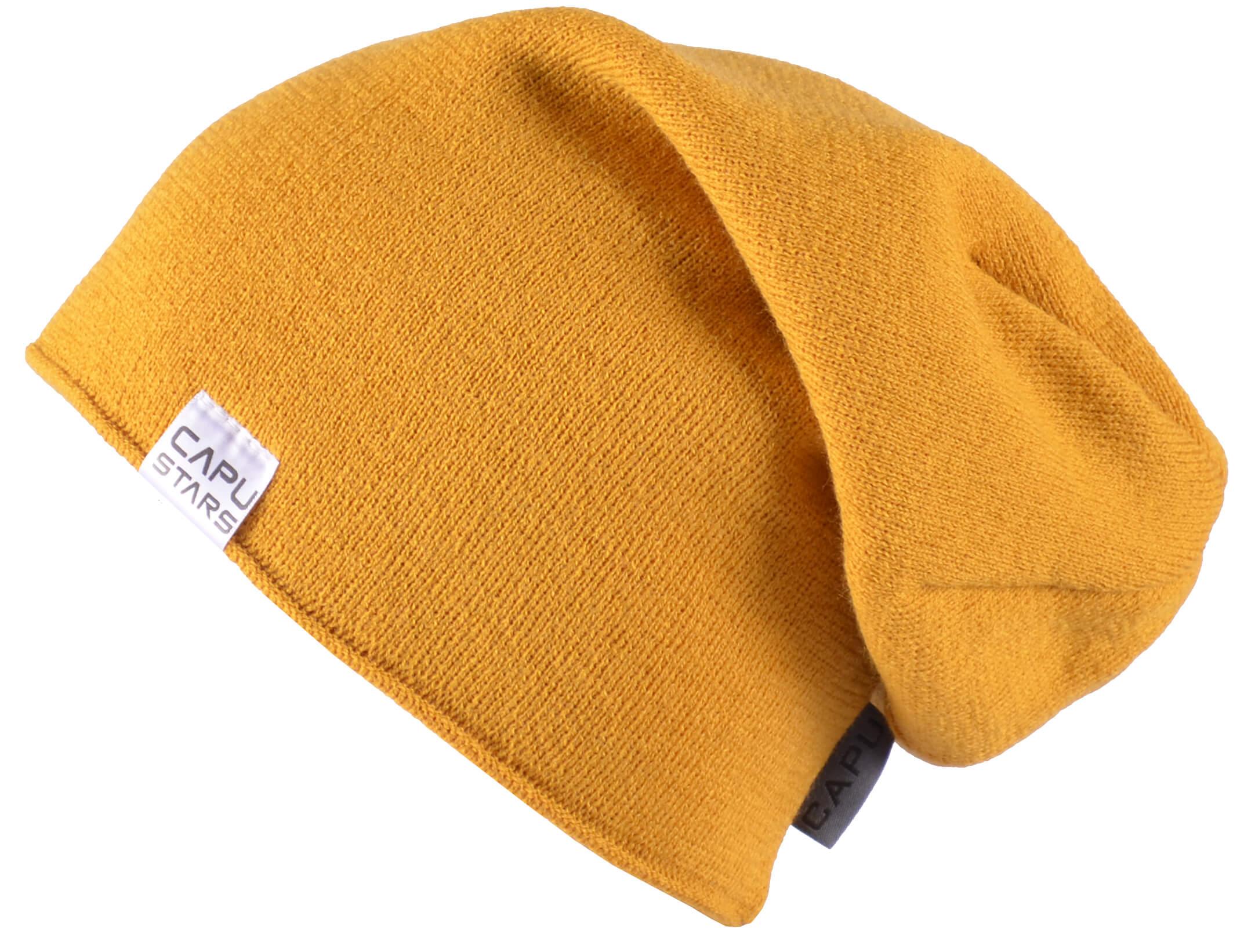 CAPU Téli sapka 1737-E Yellow  13f3f51994