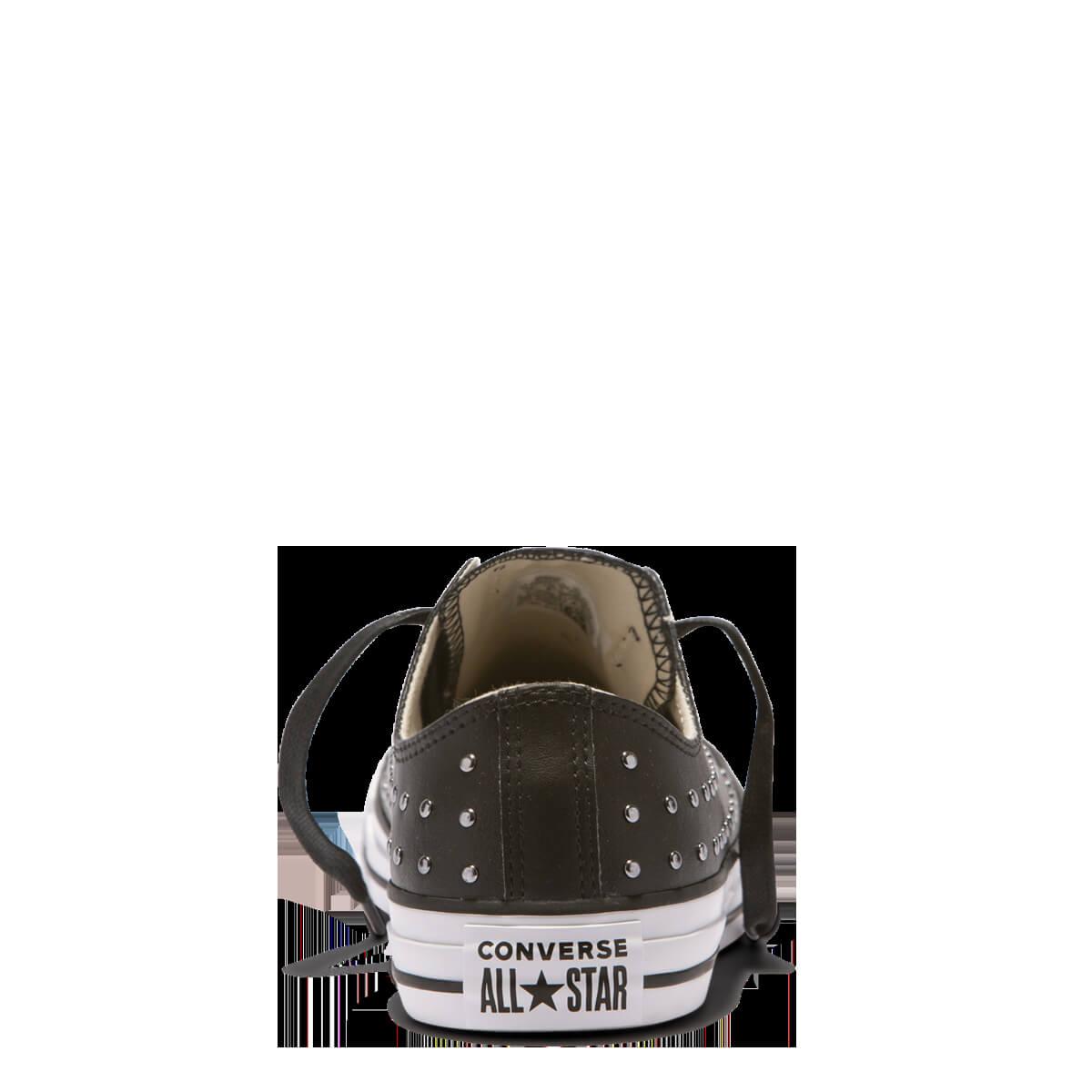 73d81a376cc Converse Dámské tenisky Chuck Taylor All Star Black Black Silver ...