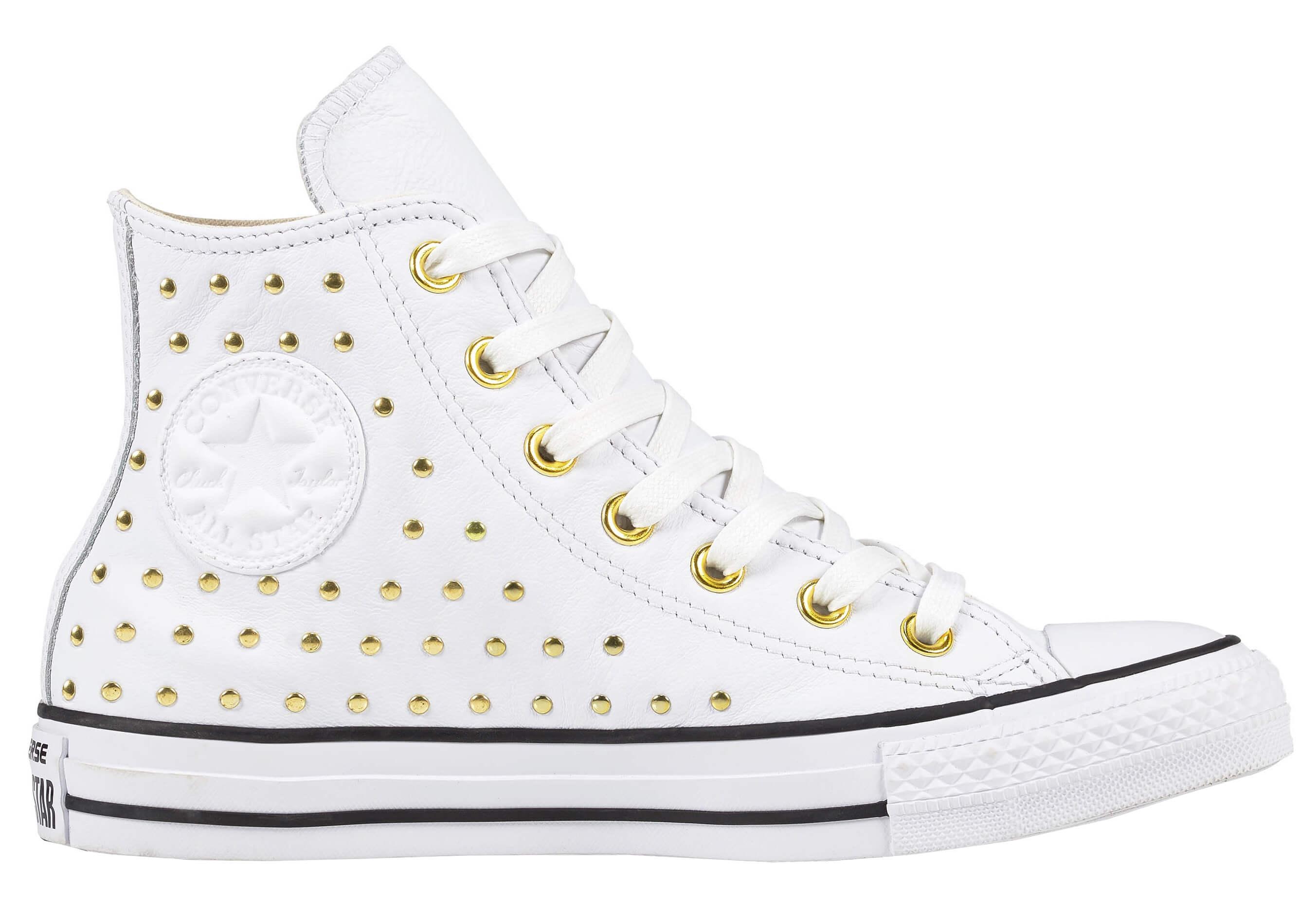 97489227c52 Converse Dámské kotníkové tenisky Chuck Taylor All Star White White Gold