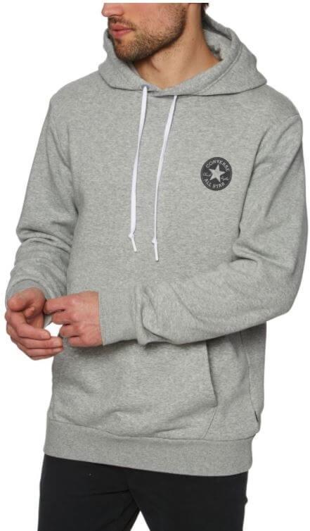 b1efdb117ab Converse Pánská mikina Chuck Taylor Graphic Pullover Hoodie Grey ...