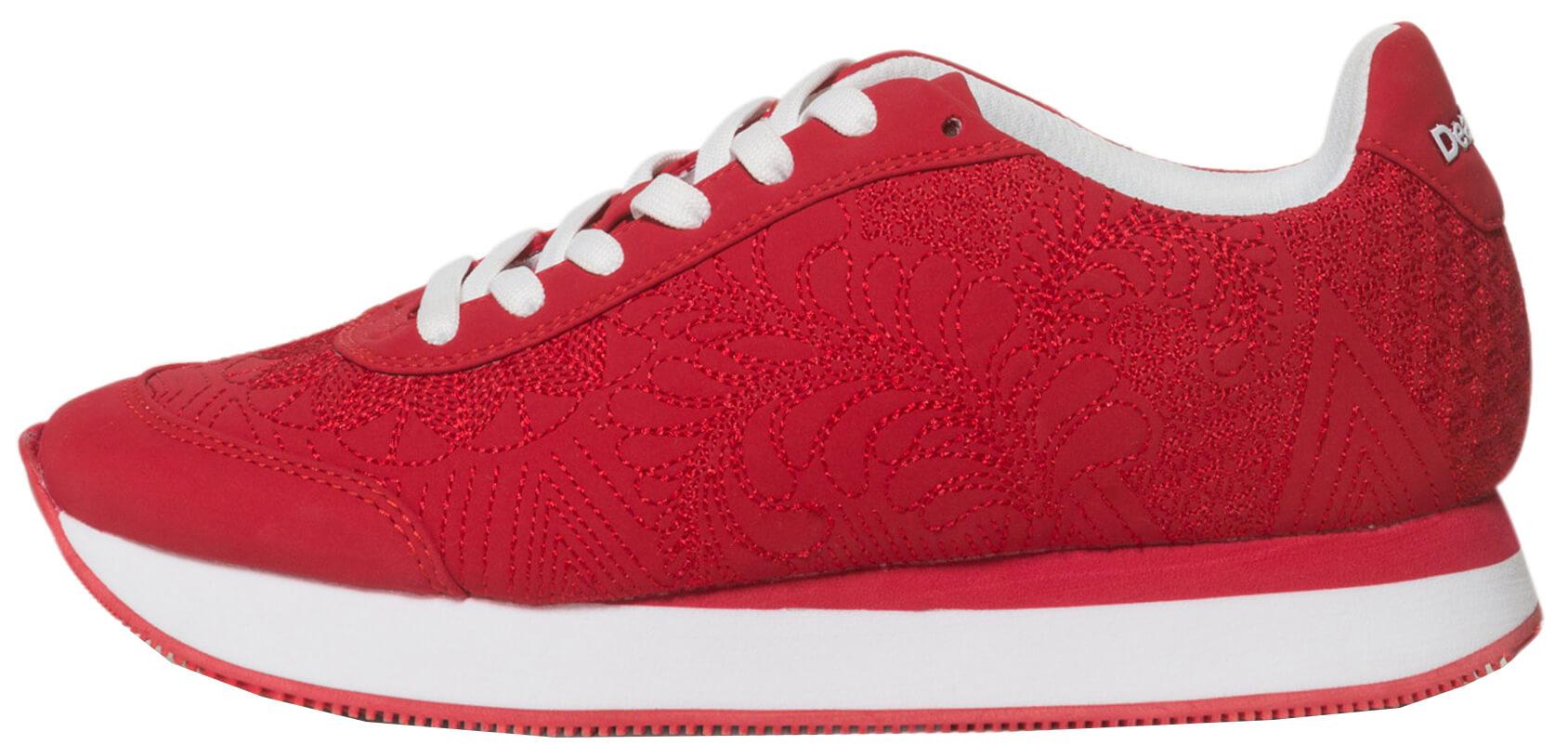 Desigual Női cipő Gala xy Lottie Piros kínai Olvasni 19SSKP02 3144 ... ee3f968602