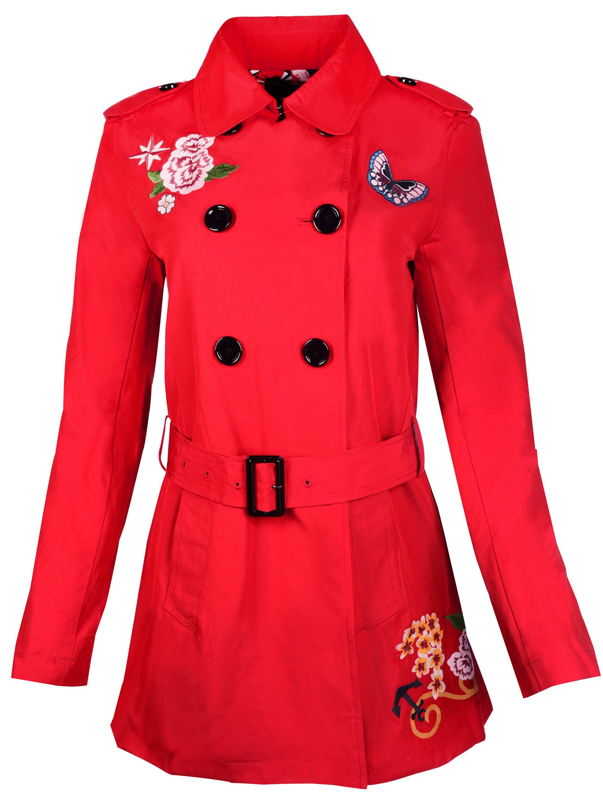Desigual Női kabát Abrigo Murielle 18SWEW84 3000 Ingyenes SZÁLLÍTÁS ... 1f23cbb638