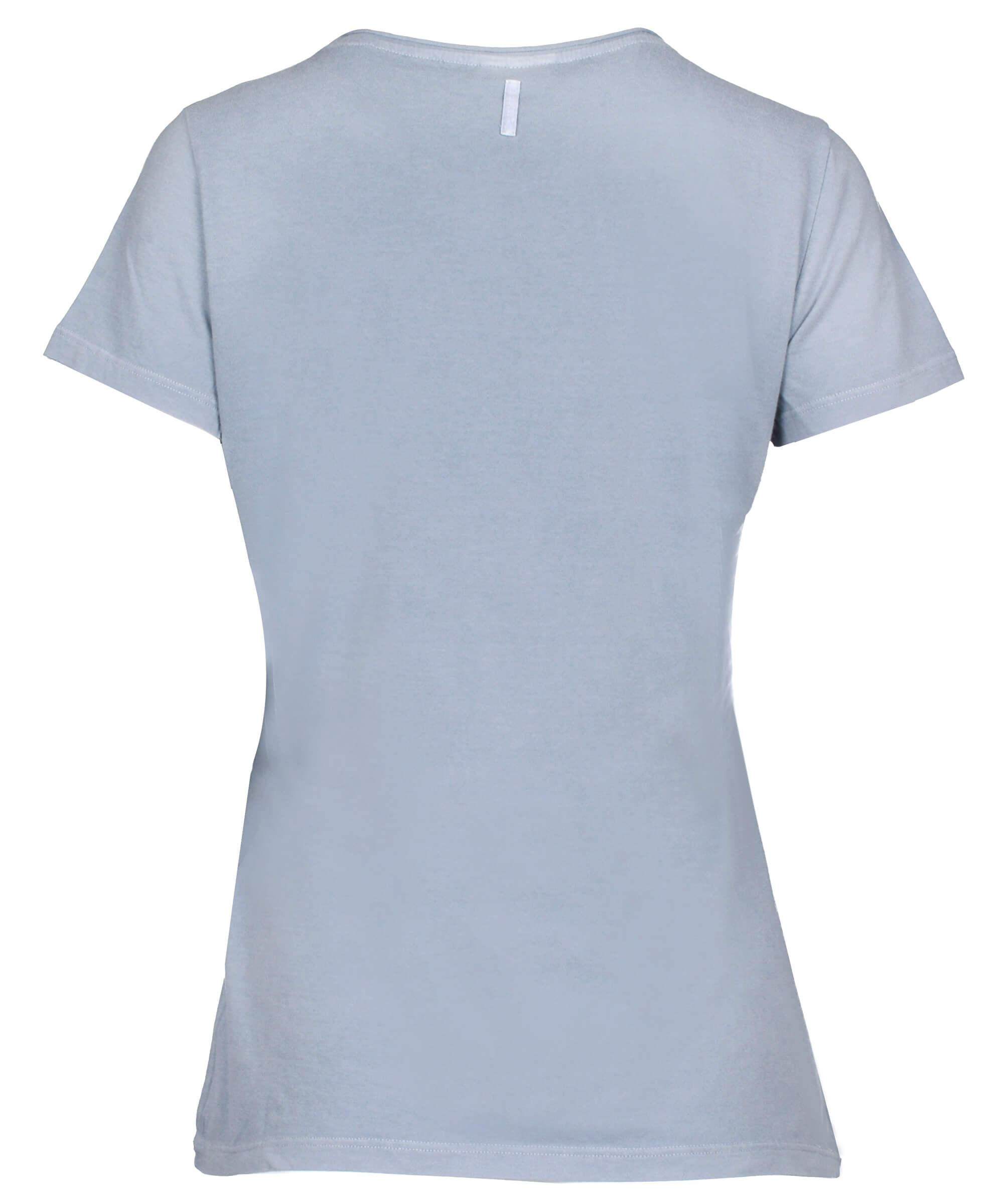 Deha Dámské triko T-Shirt B84150 Dusty Blue  a14cf20f73