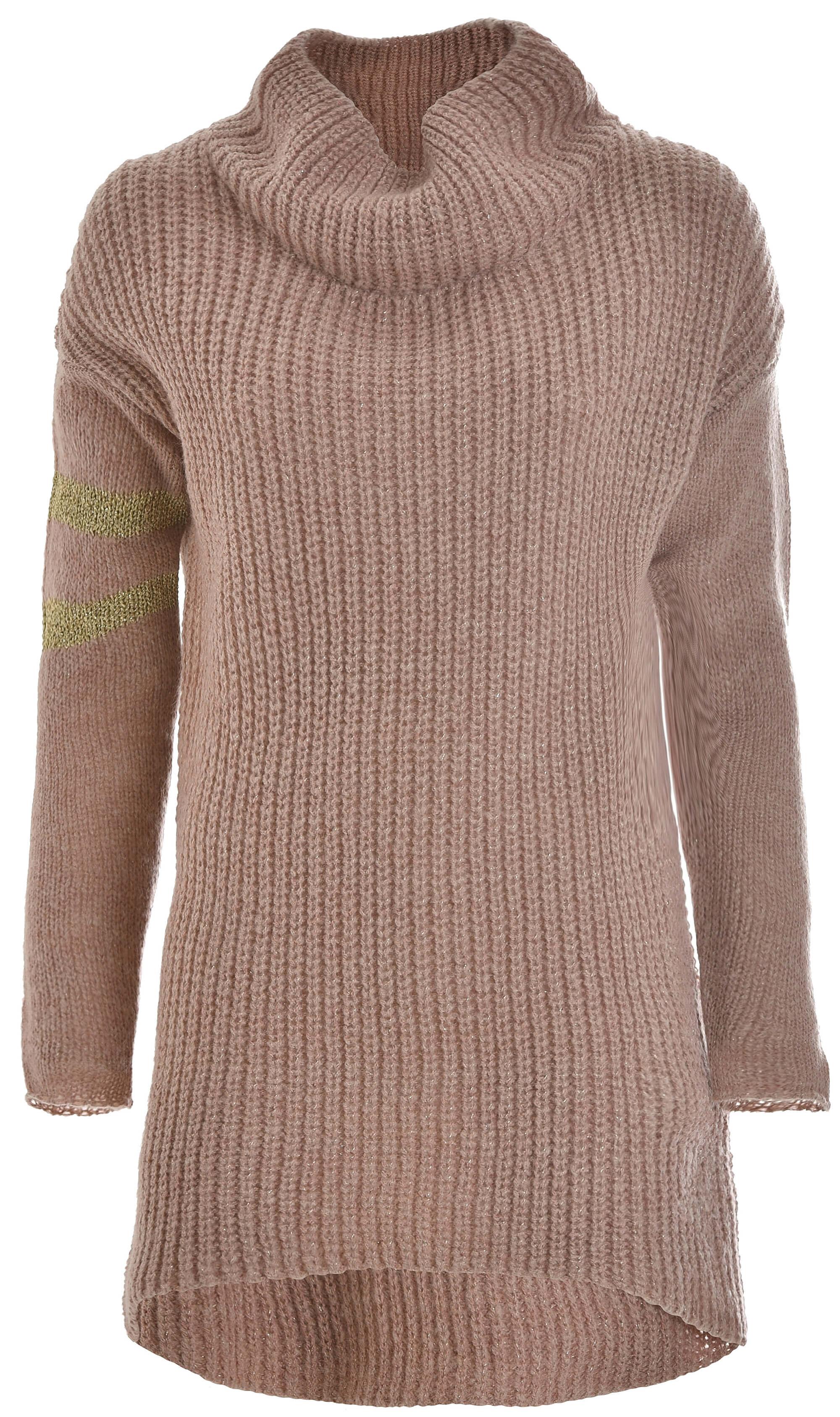 Deha Női pulóver kötött pulóver B64420 Rose Dust Ingyenes SZÁLLÍTÁS ... e828c1334b
