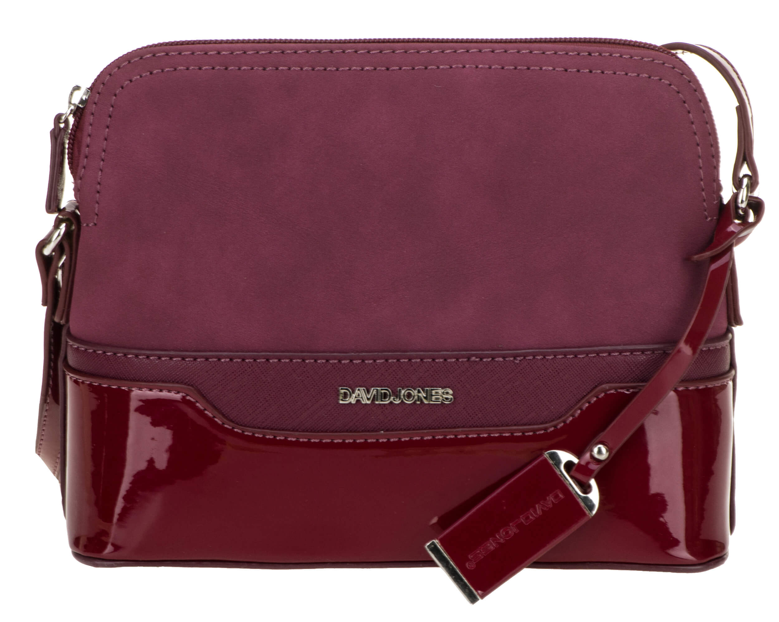 c050b6a409 David Jones Dámska crossbody kabelka Dark Bordeaux 5808-1