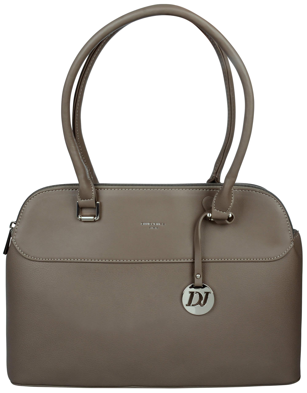 David Jones Elegantná dámska kabelka Dark Taupe 5617-2 Doprava ... 5805d4280f3