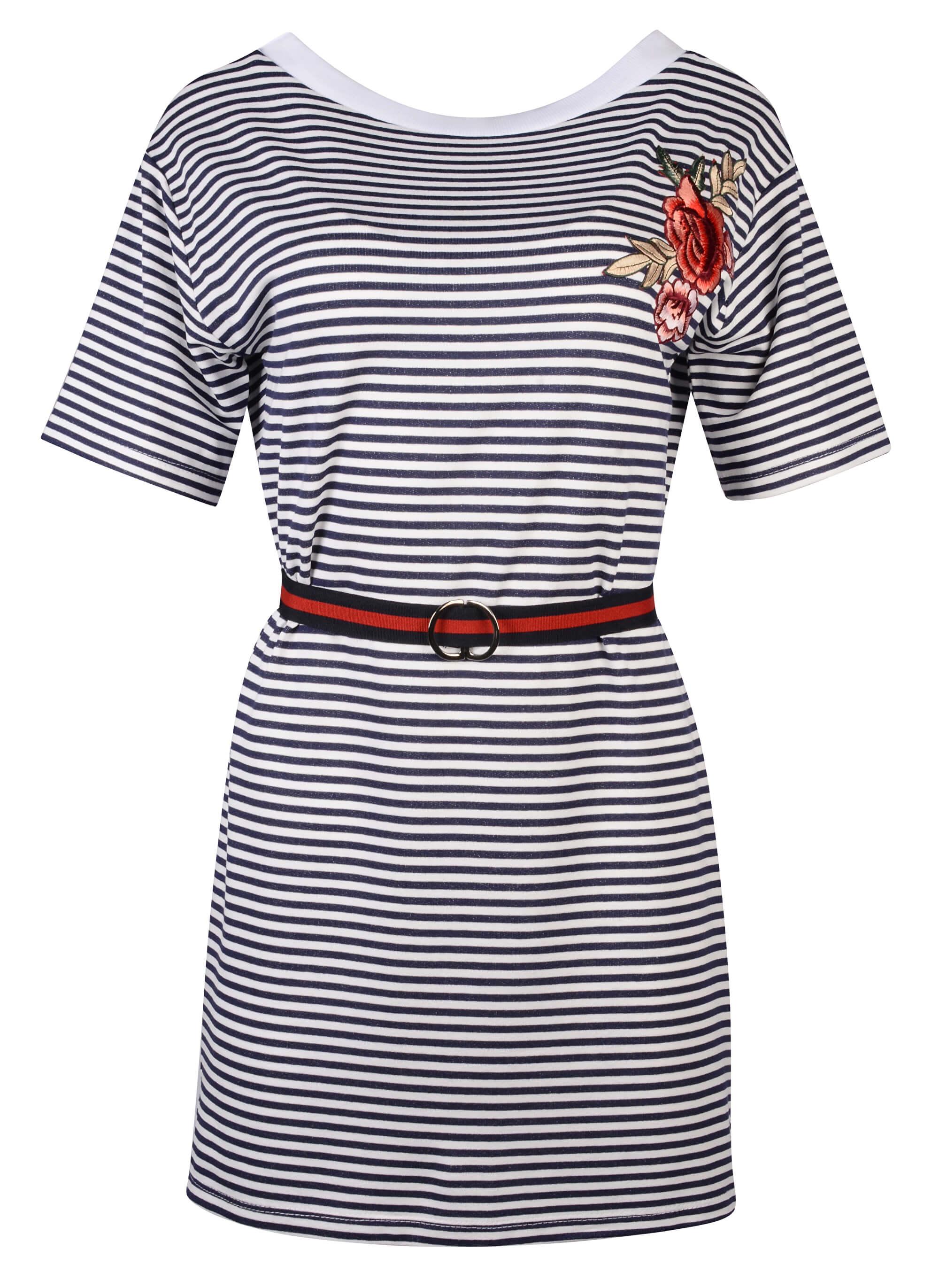 ea6dd41f7631 Fornarina Dámské šaty Tamara-Blue Dress