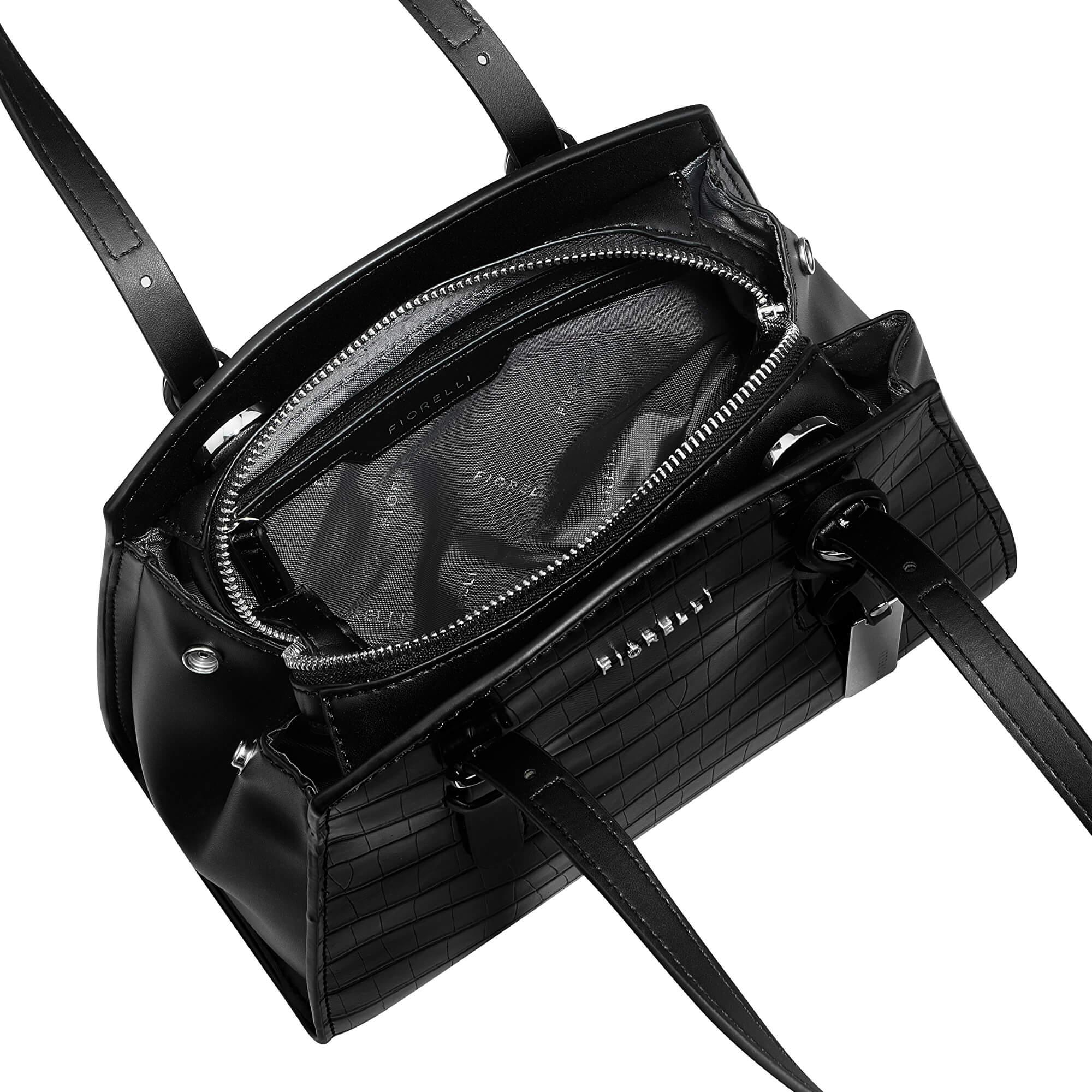 Fiorelli Elegantná kabelka Clarendon FWH0437 Black Croc Doprava ZDARMA  2f30e804bb2