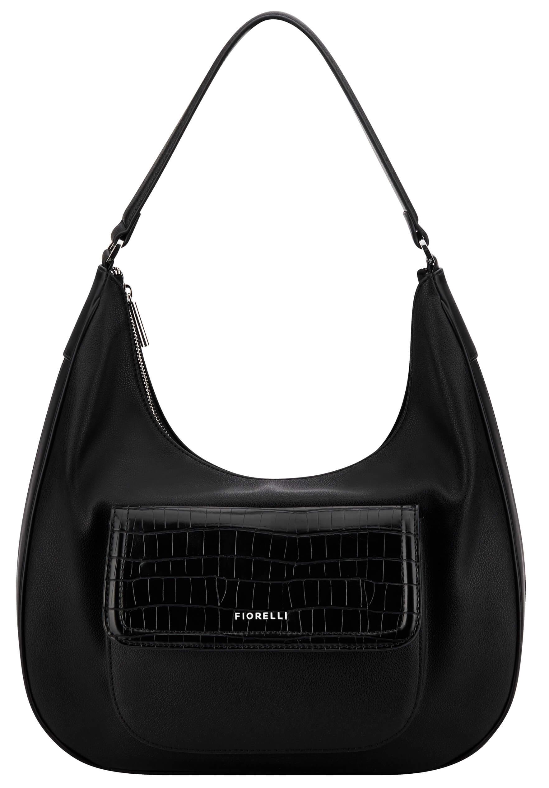 Fiorelli Dámská kabelka Tufnell FWH0440 Black Croc Doprava ZDARMA ... 0ce3ad38d6f