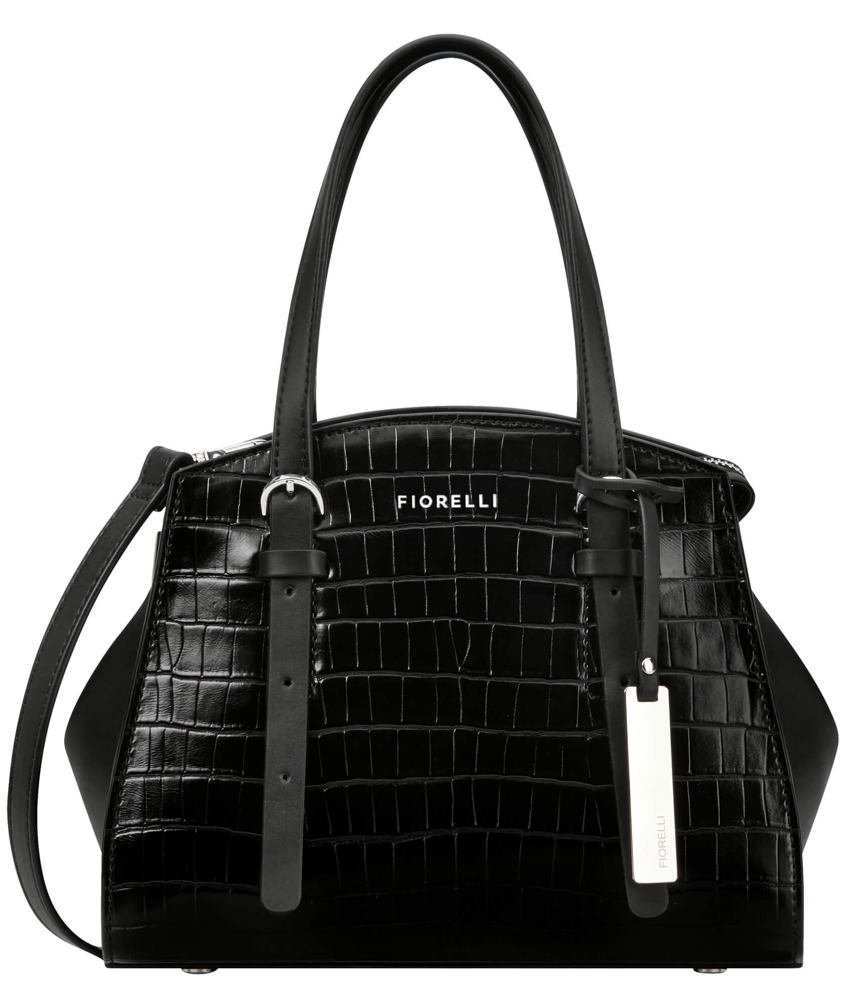 Fiorelli Elegantná kabelka Clarendon FWH0437 Black Croc Doprava ... deceb7aaba3