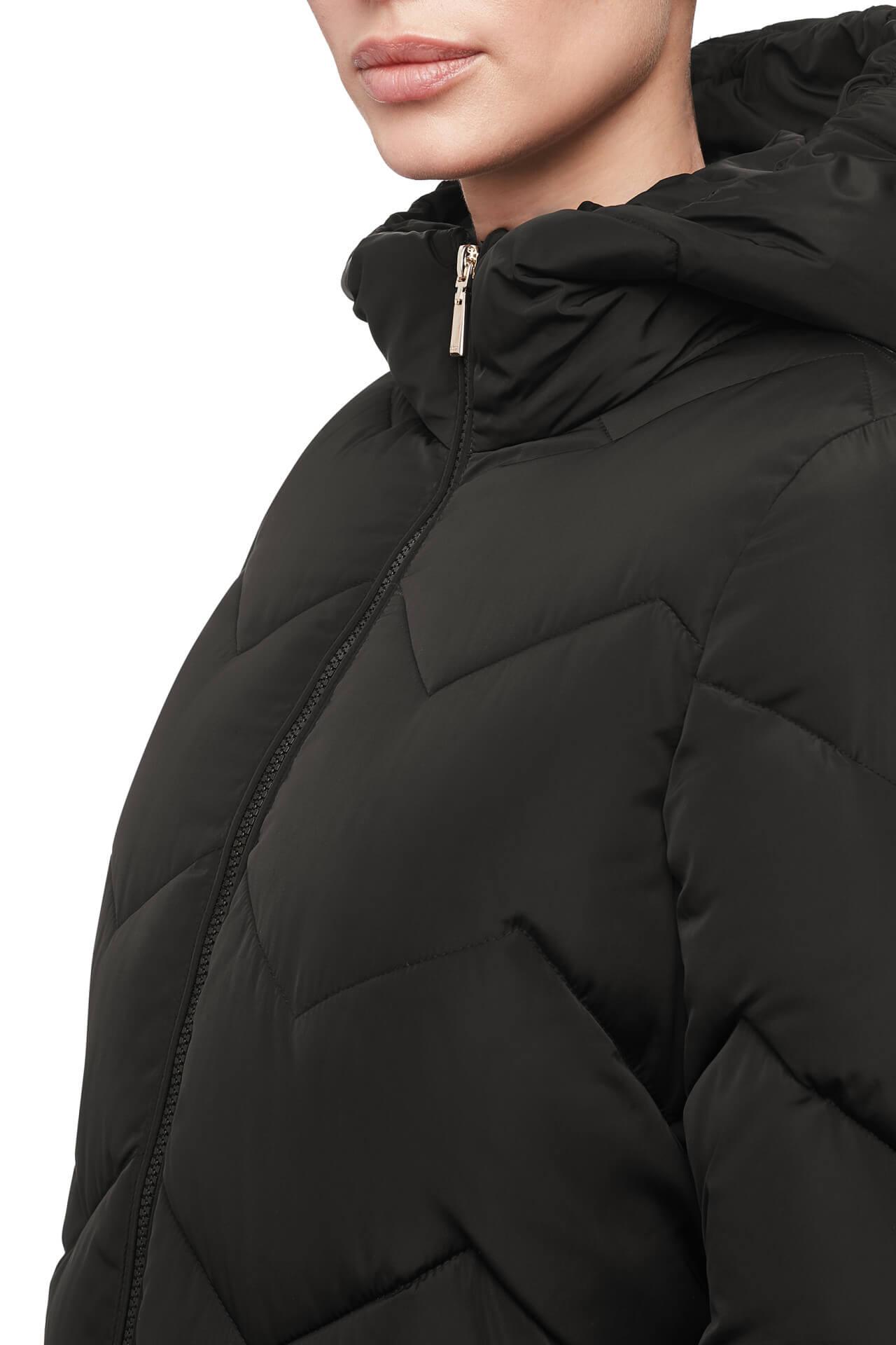 GEOX Női kabát Annya Long JKT Black W8428C-T2506-F9000 Ingyenes ... f4463125e2