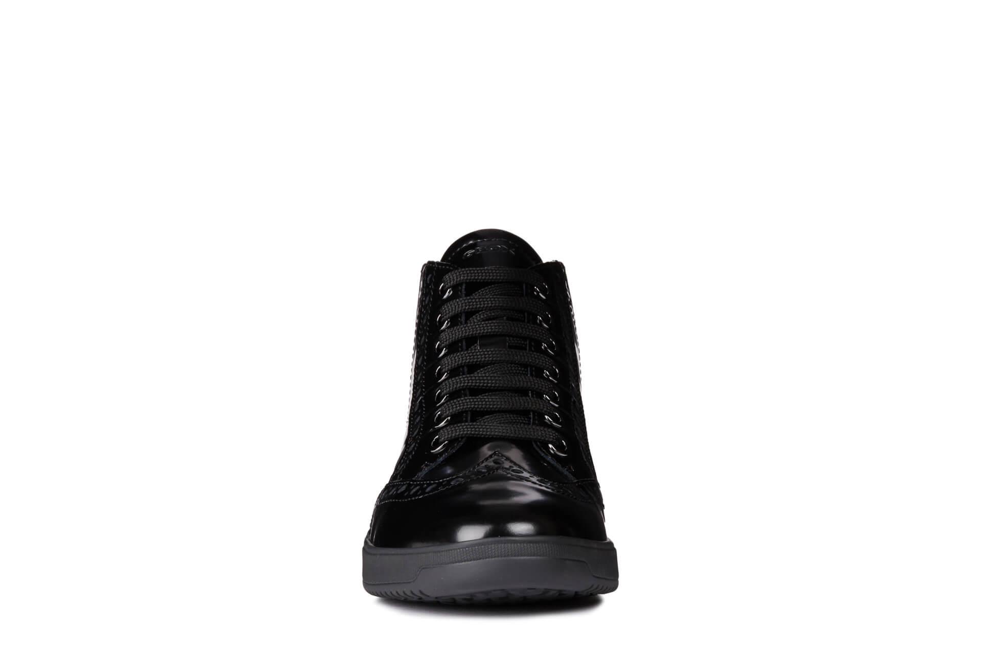 f67b66252af GEOX Damen knöchelhohe Sneaker Tahina E Black D84BDE-03854-C9999 ...