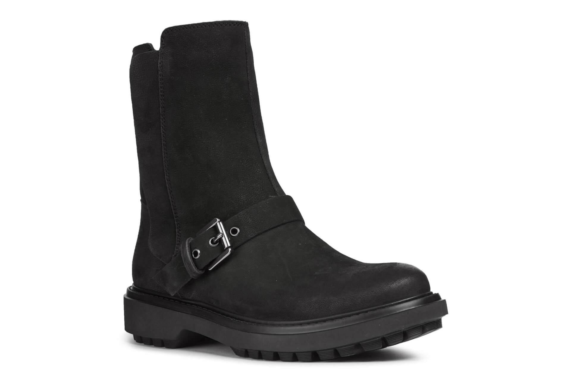 782e1d603ea GEOX Dámské kotníkové boty Asheely F Black D847AF-000LT-C9999 ...