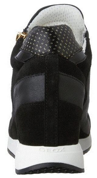 65b6f57857f GEOX Elegantní dámské boty Nydame Black D620QA-000MA-C9999 Doprava ...