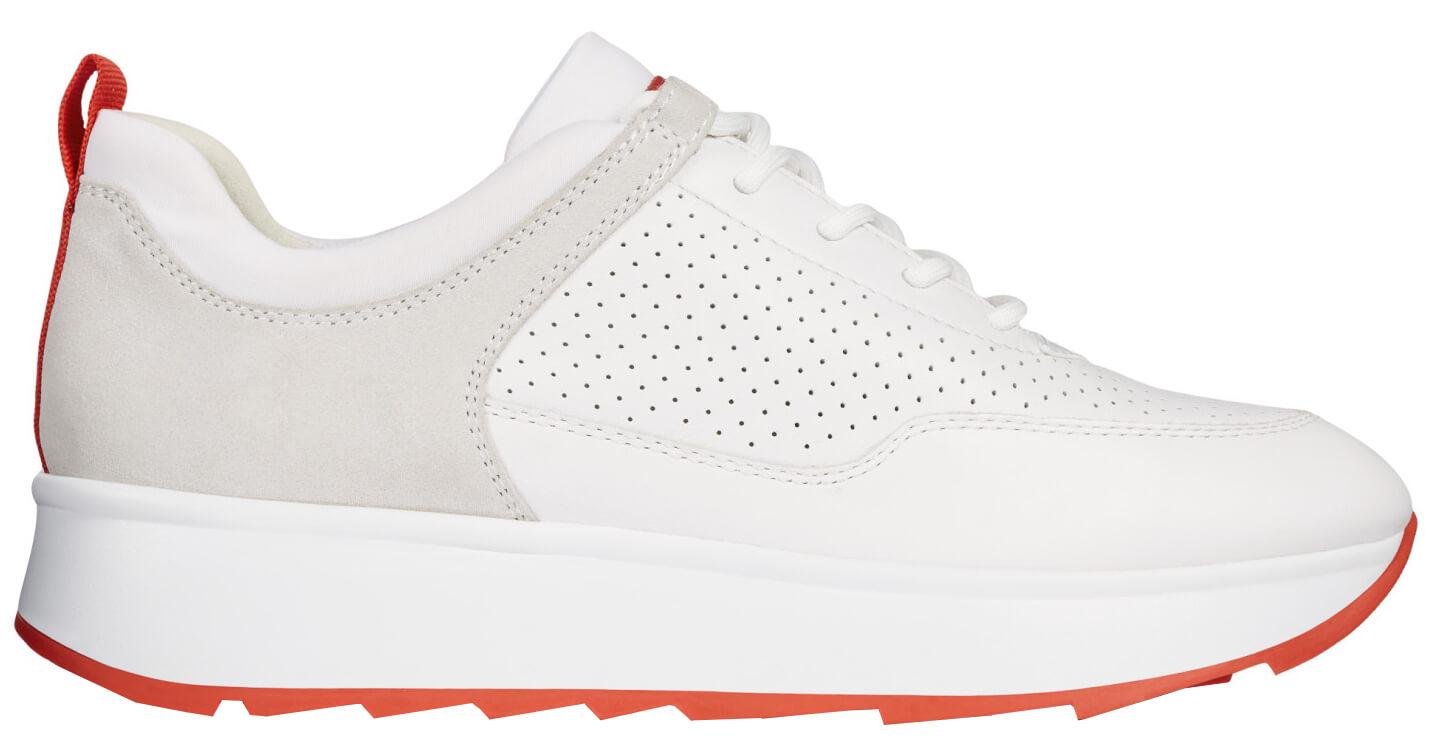 GEOX Dámské tenisky Gendry B White Off White D925TB-08522-C1352 ... b7615c68ee4