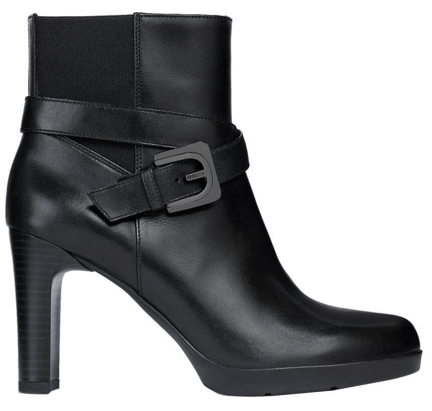 01e9dffc2ca GEOX Dámské kotníkové boty Annya H E Black D84AEE-00043-C9999 ...