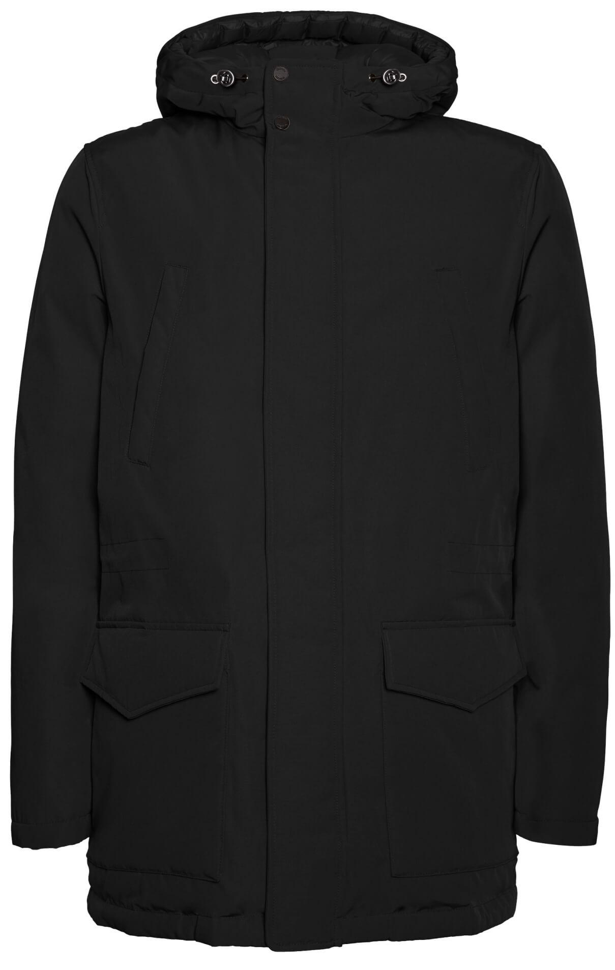 GEOX Pánská bunda Avery Medium Parka Black M8428R-T2518-F9000 ... 23334990a2