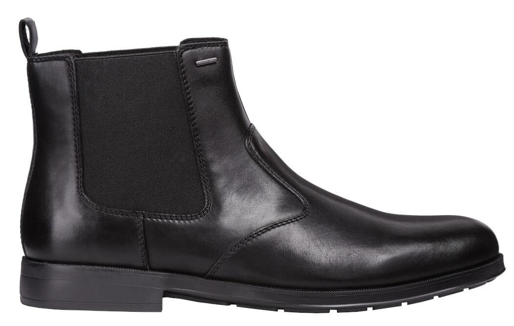Geox Pánske členkové topánky Hilstone Wide Np ABX D Black U845TD-00043-C9999 7dbaf4879c1