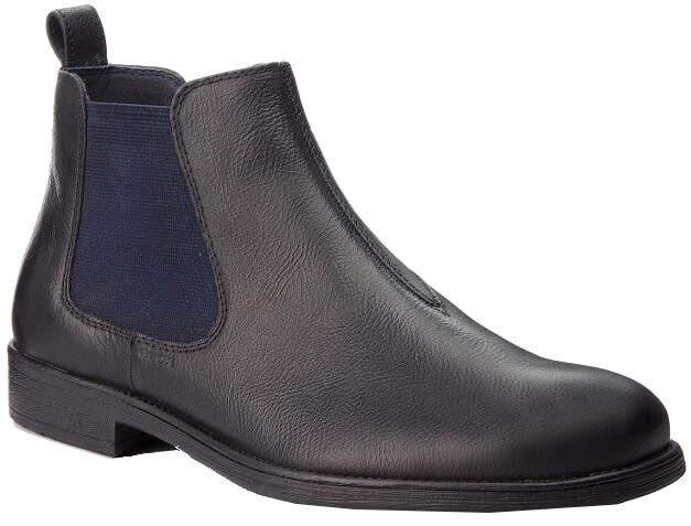 GEOX Pánske členkové topánky Jaylon H Black U84Y7H-000EM-C9999 ... e8ec4835a23