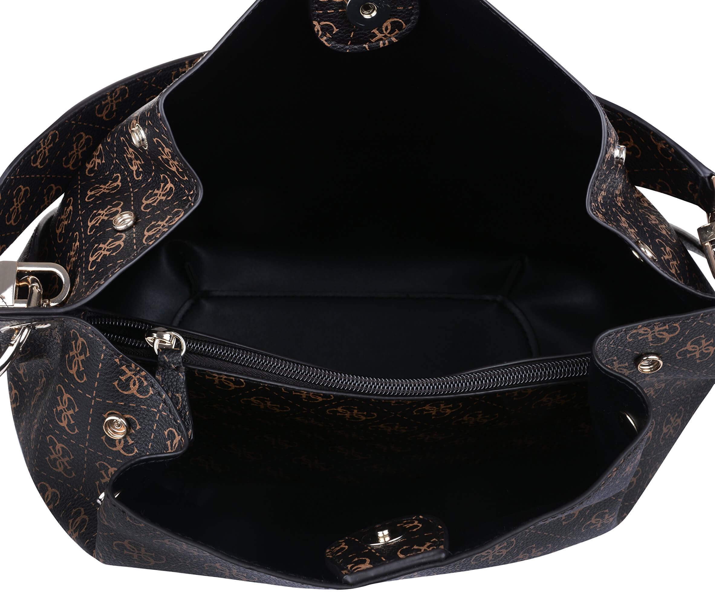 Guess Női Digital hobo HWSG68 Black táska Ingyenes SZÁLLÍTÁS ... 4363288179