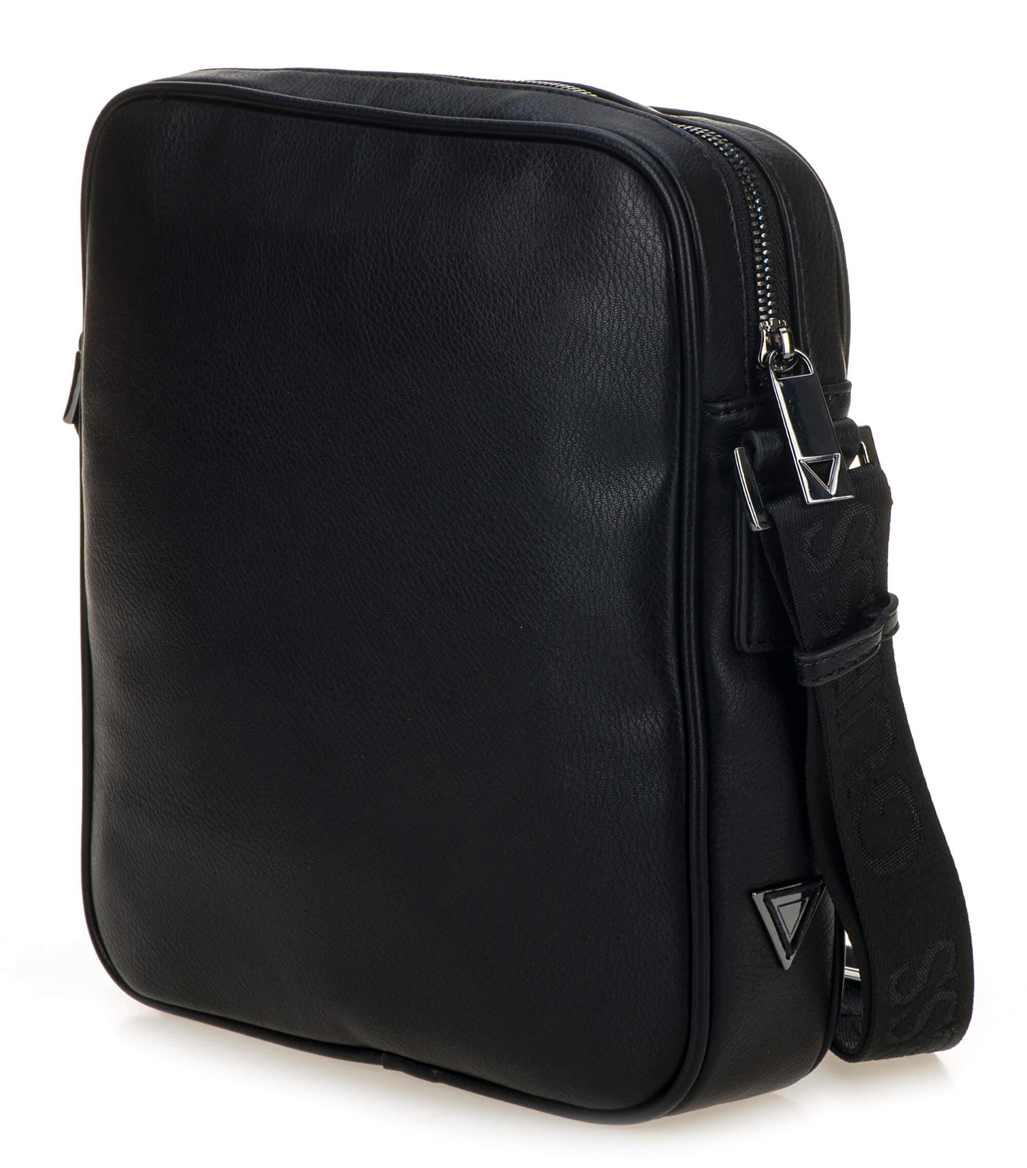 55a208c1a0 Guess Pánska taška City Top Zip Crossbody HM6536 Black Doprava ...