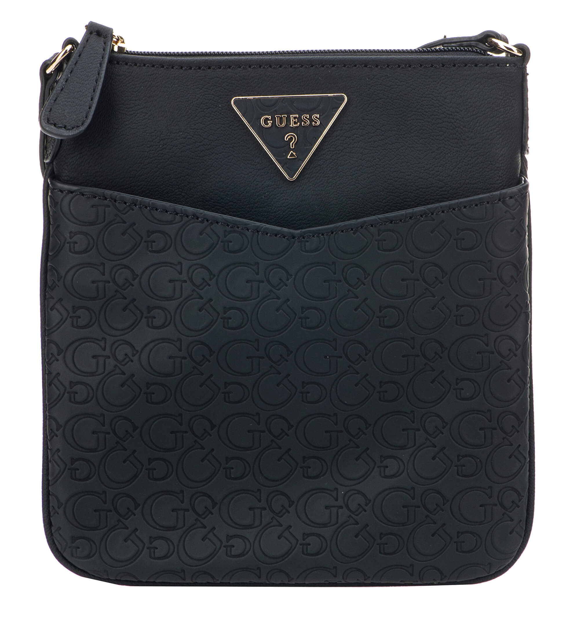Guess Dámská kabelka Factory Women`s Desire Logo-Embossed Crossbody Black 657fa01030