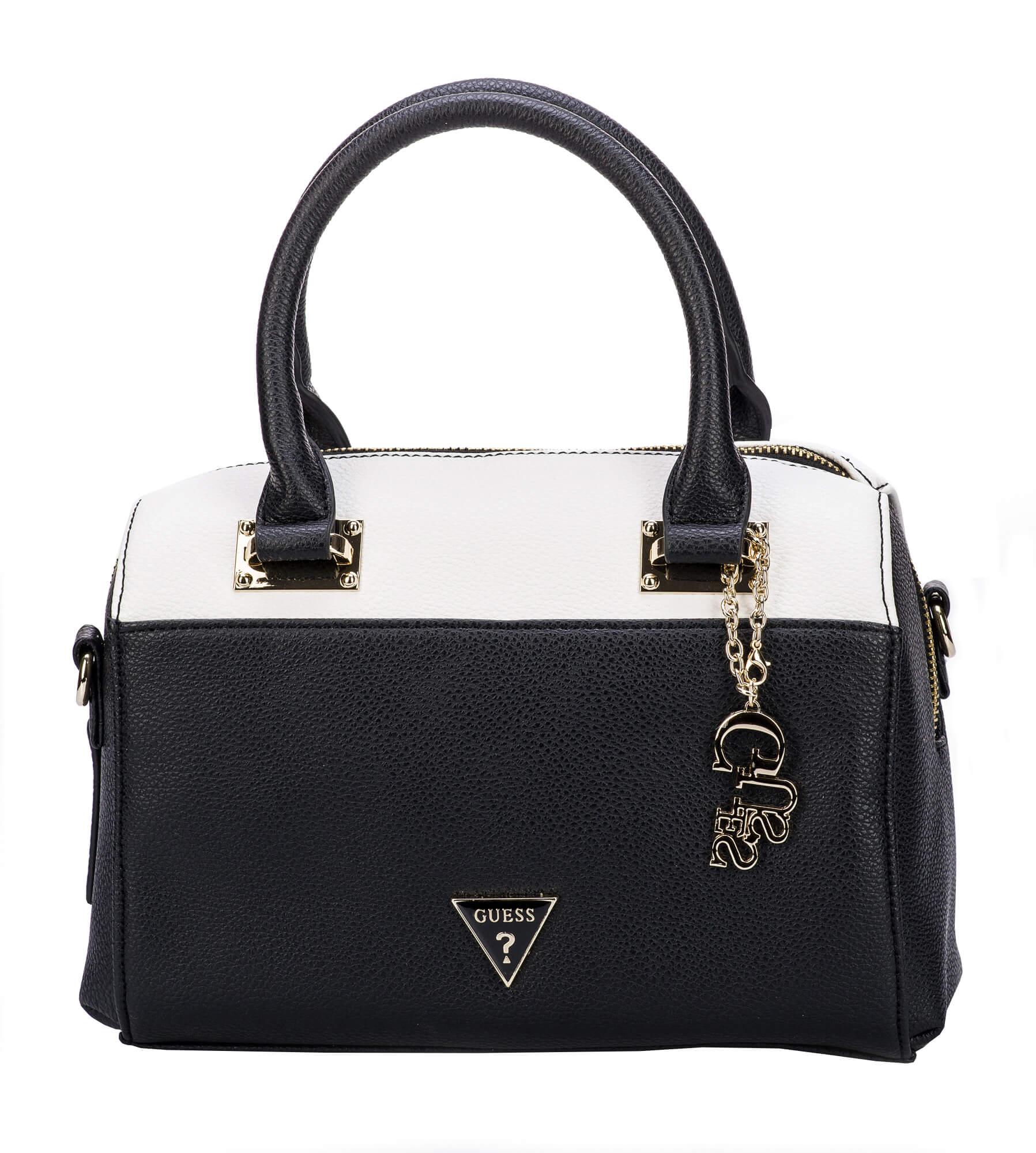 Guess Női Clara Dome táska fekete Multi Női táska Ingyenes SZÁLLÍTÁS ... 8a07e68d82