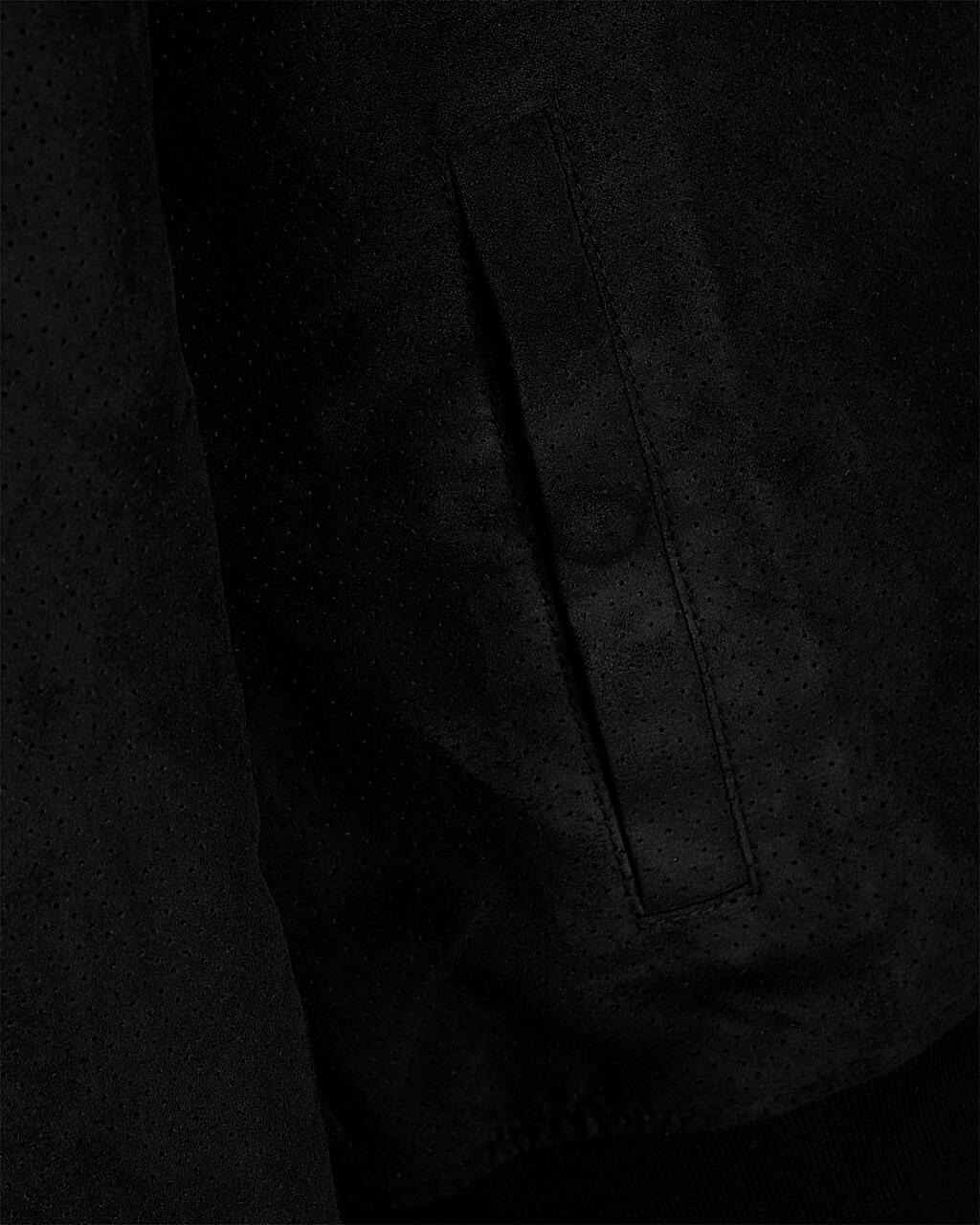 Jack Jones Pánska bunda Jorhoward Casual Bomber Black  fb38da60d19