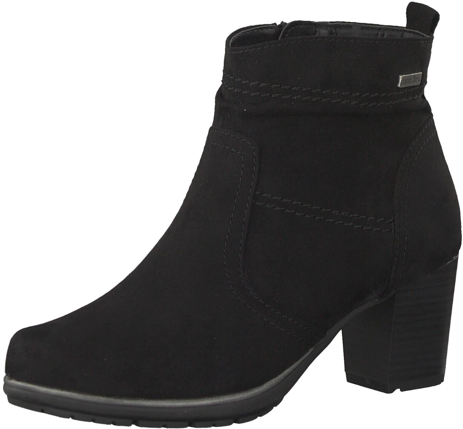 Jana Dámské kotníkové boty 8-8-26371-21 001 Black  b4934c7de8