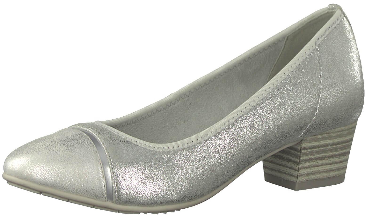 Jana Bíróság cipő 8-8-22300-20-941 Silver  30627b42bd