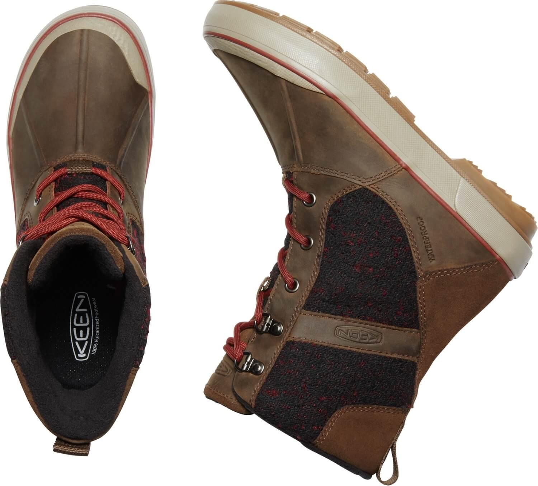 7d22bb1523de3 KEEN Dámske zimné topánky Elsa II Wool WP Cascade Brown/Fired Brick V  akcii. Predchádzajúci <Ďalšie >