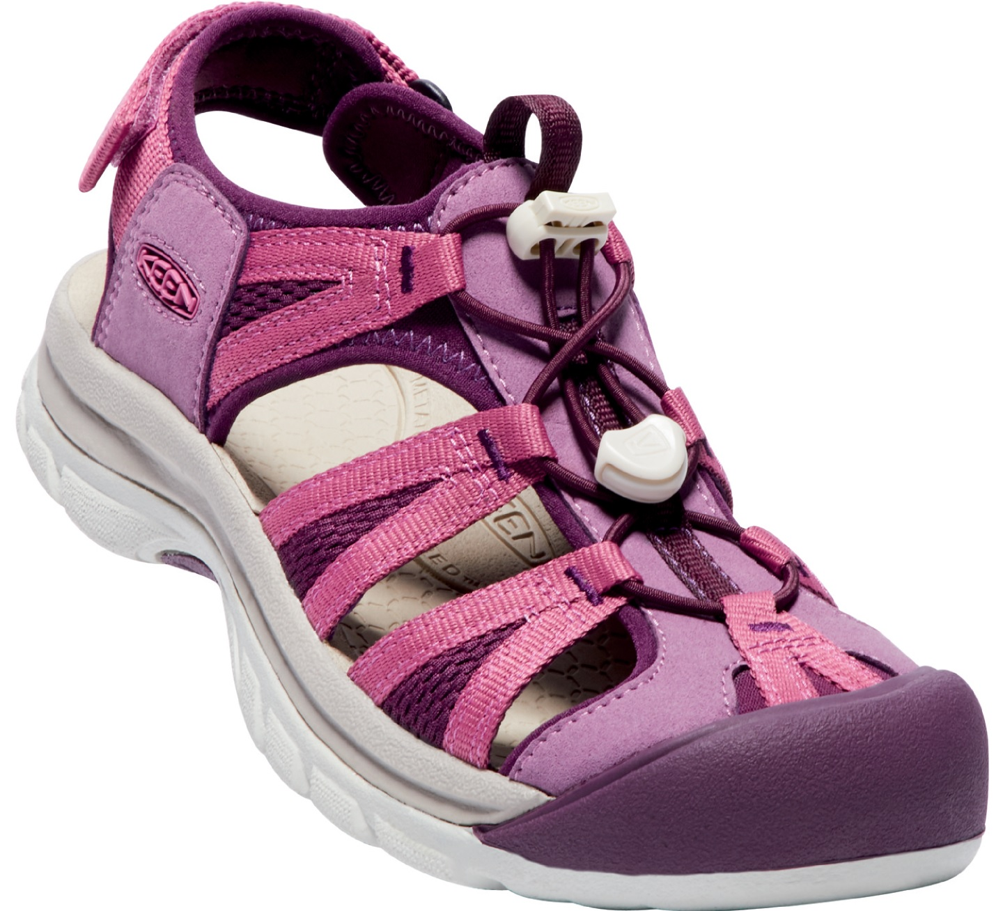 KEEN Dámské sandály Waterfront Women Venice II H2 Grape Kiss Red Violet 5273da069a1