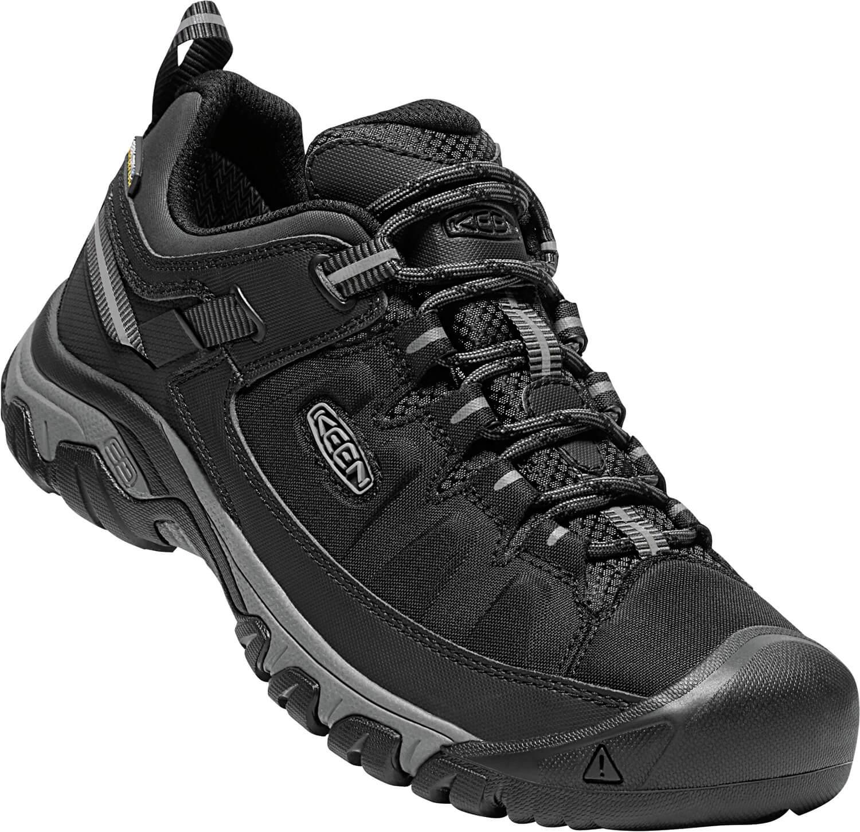 KEEN Férfi cipő Targhee EXP WP Black Steel Grey Ingyenes SZÁLLÍTÁS ... b5dd8ba6b8