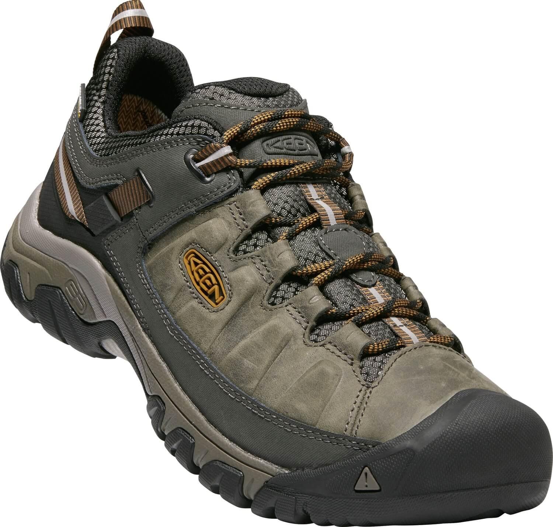 KEEN Férfi cipőTarghee III WP Black Olive   Gold és Brown Ingyenes ... 47d3cd8a04