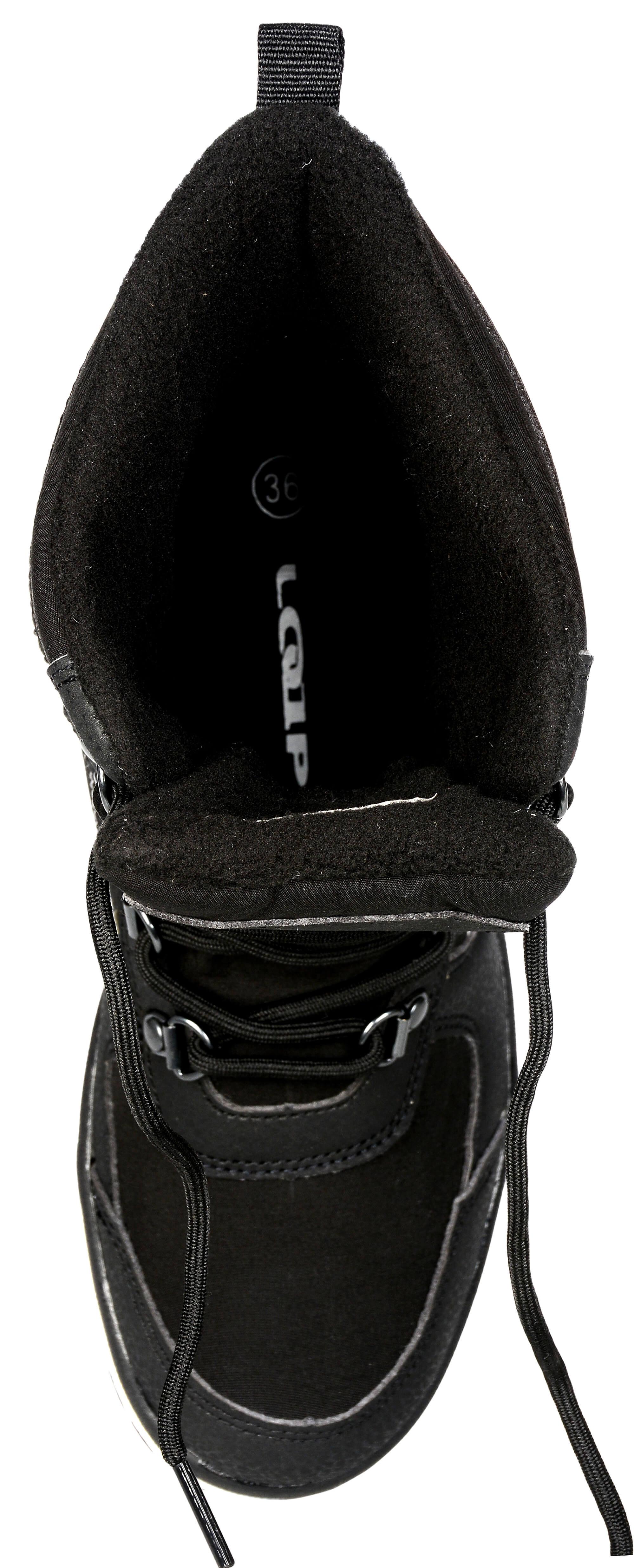 cc4b9e7dbb9 LOAP Dámské zimní boty Denia Black Bl De Blanc SBL1749-V11A Doprava ...