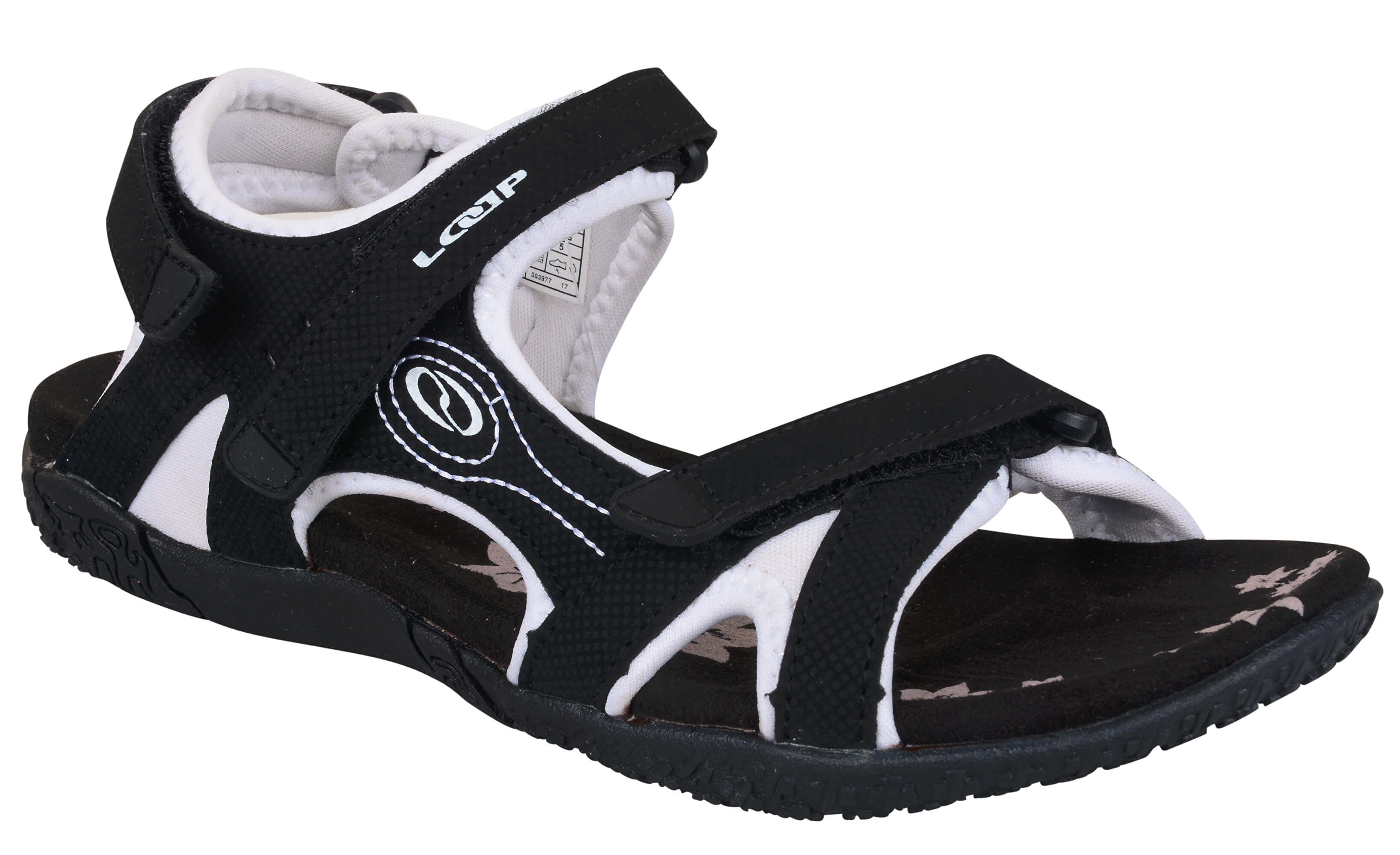 da9658630b5 LOAP Dámské sandály Caffa Black Bl de Blanc černo-bílé SSL1758-V11A ...