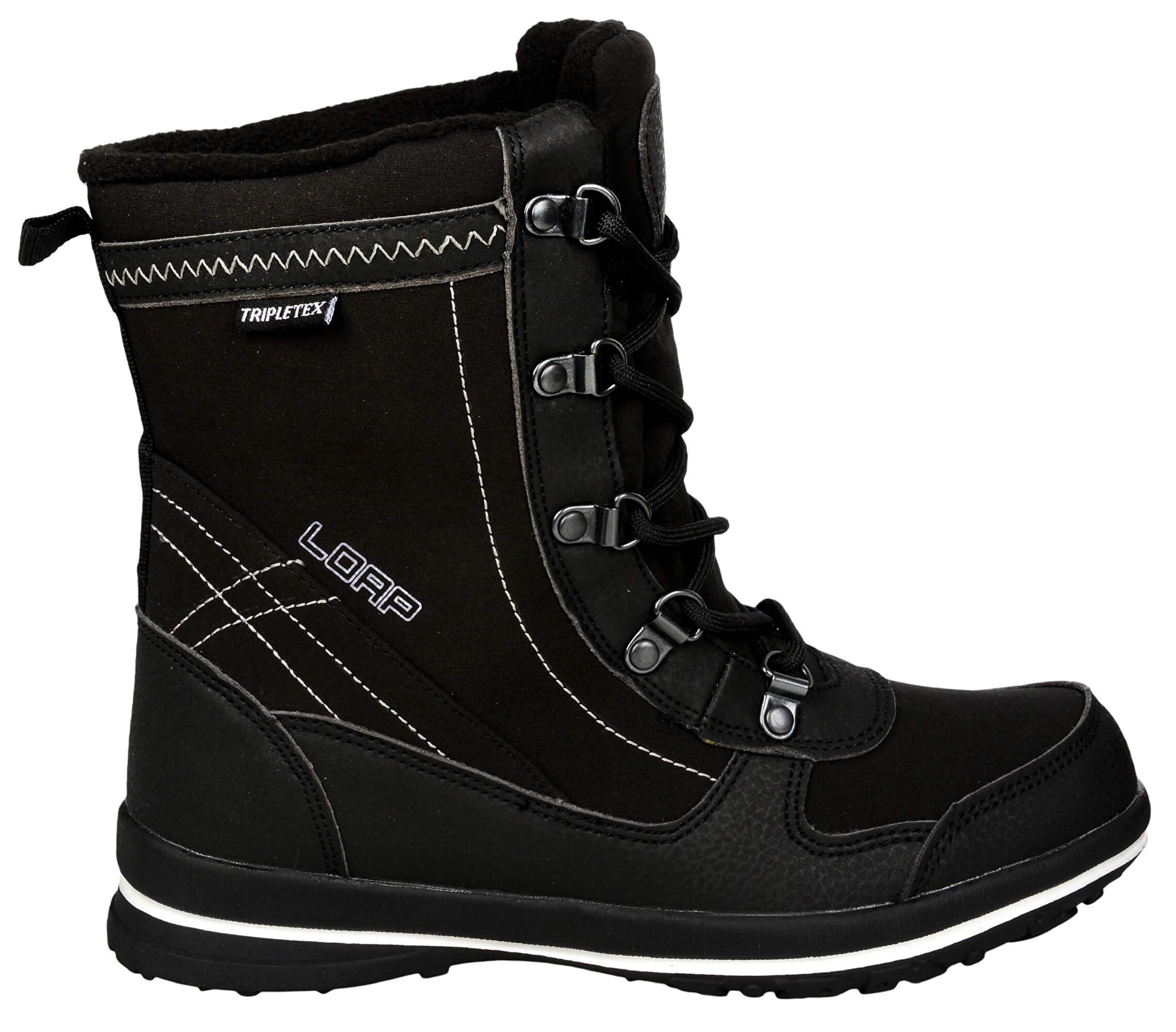 LOAP Dámské zimní boty Denia Black Bl De Blanc SBL1749-V11A Doprava ... e47d9b62bc