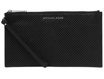 Michael Kors Elegantní kabelka Jet Set Travel Large Zip Clutch Black ... 347f1ee6f57