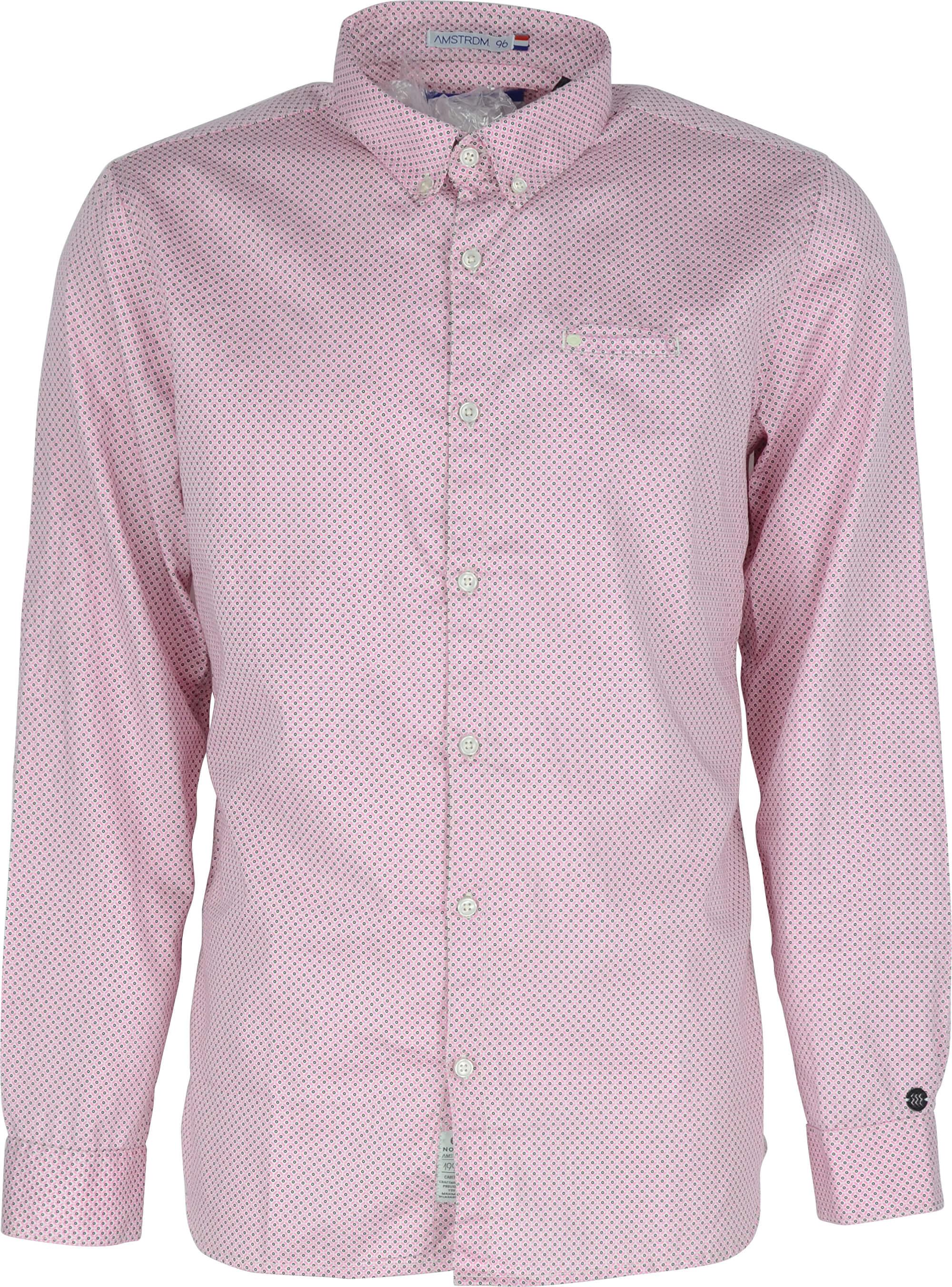 Noize Pánská košile Bright Pink 4446105-00  c84b743b3b