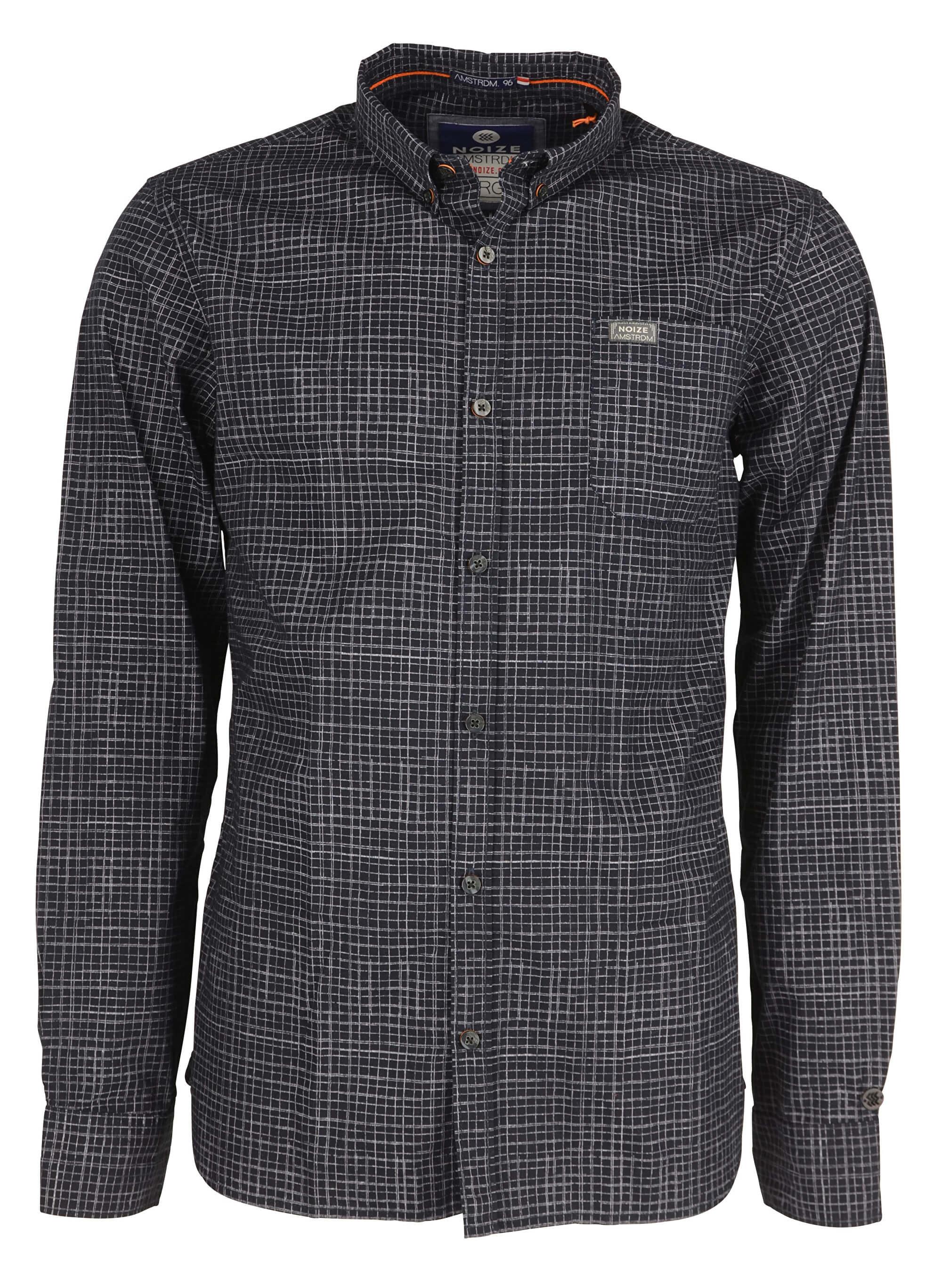 af1f5c713 Noize Pánska košeľa s dlhým rukávom Navy 4546105-00 | Vivantis.sk