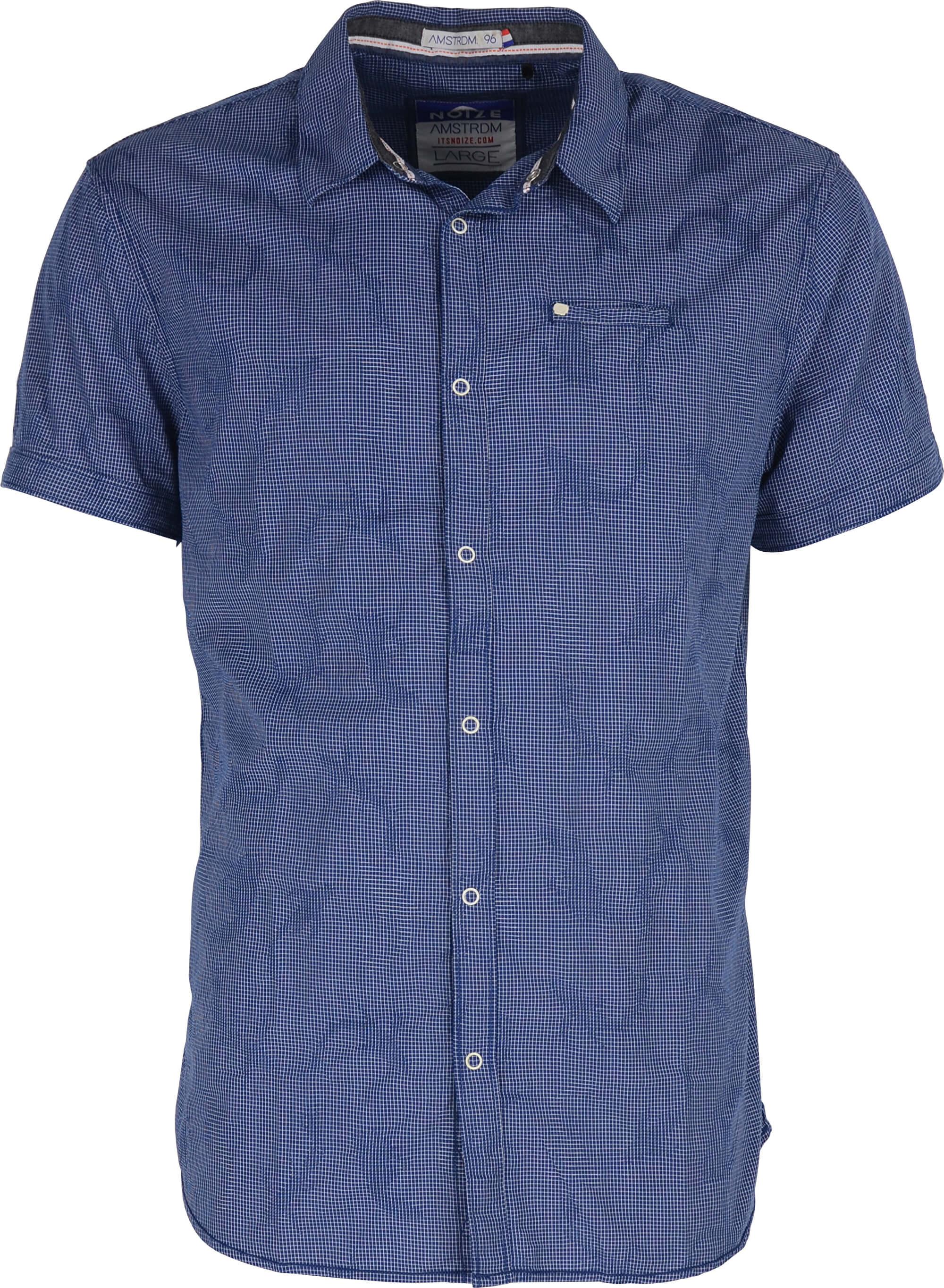 bd65c2816cd Noize Pánská košile s krátkým rukávem Royal 4448210-00