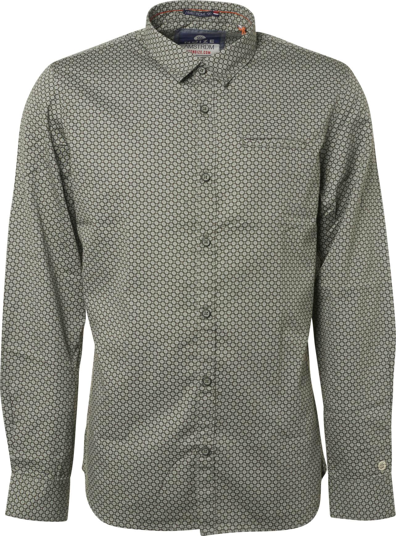 Noize Pánská košile Smoke Green 4746110-00-155  df9f066a7c