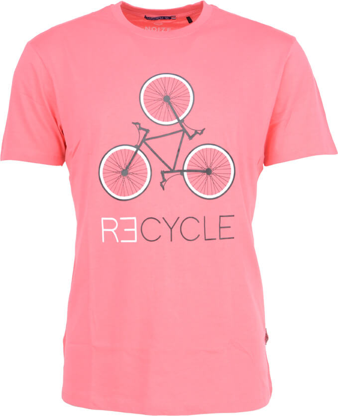 Noize Pánské triko Bright Pink 4634230-00-69  1bc8463b09