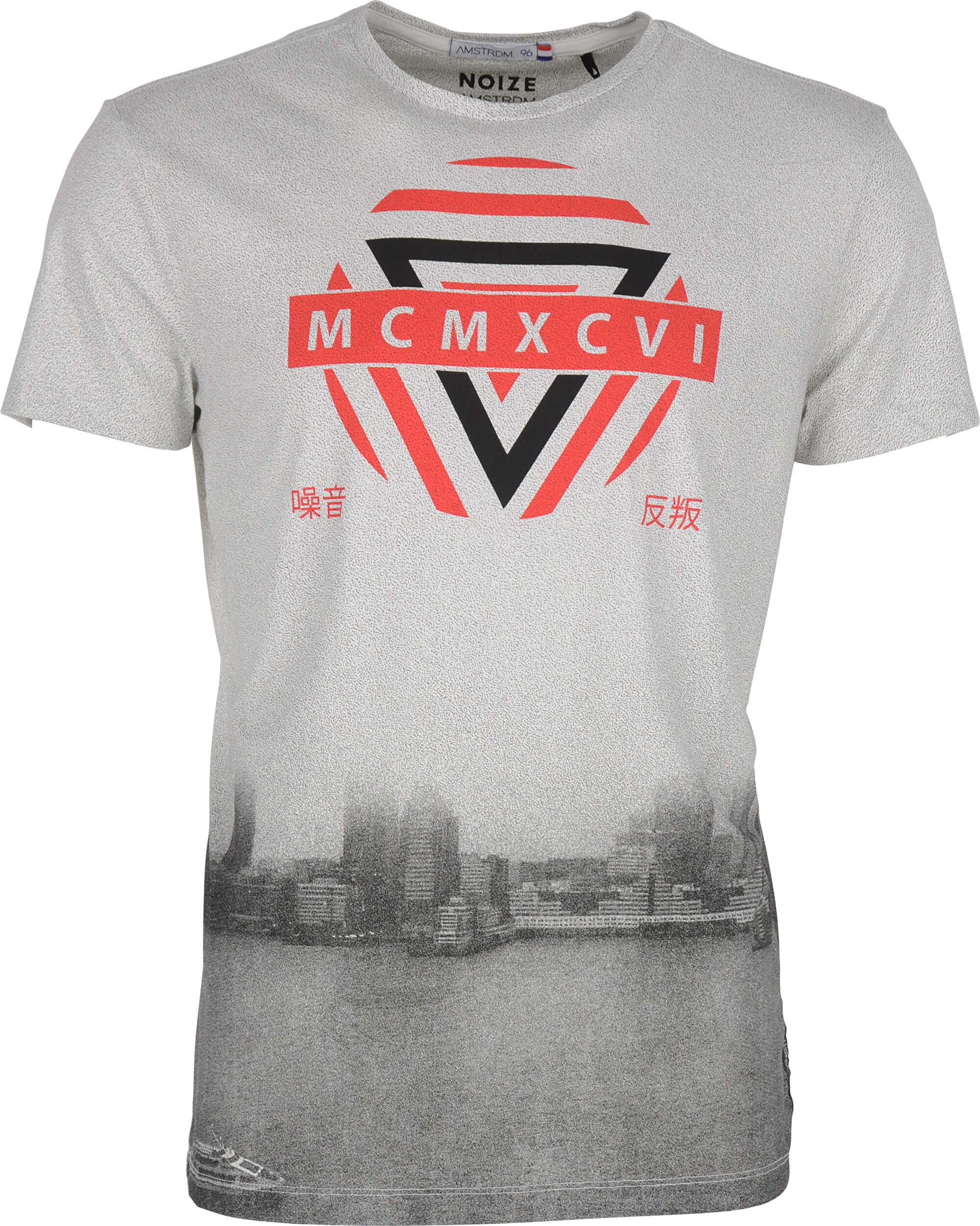 ed6a23a3adda Noize Pánské triko s krátkým rukávem Cement 4436100-00