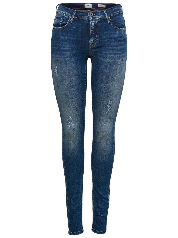 2087f63a1d3 ONLY Dámské džíny Shape Reg SK DNM Jeans REA4488 Noos Dark Blue Denim 34