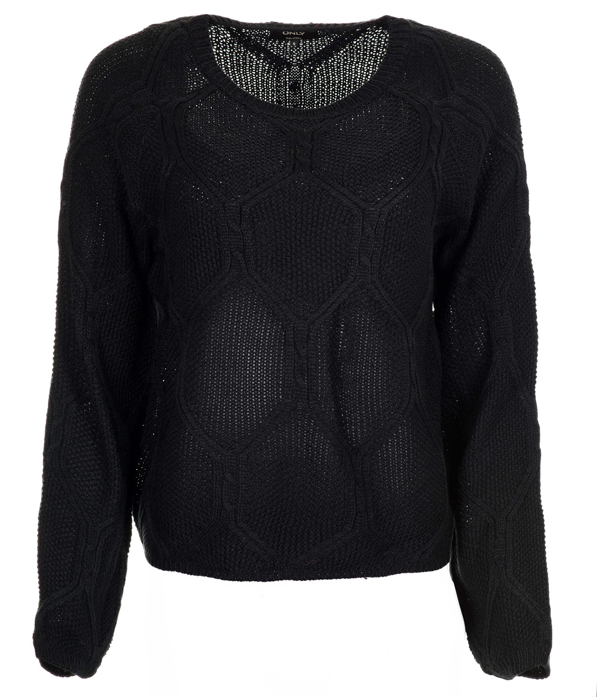 dd7b04ec6f7 ONLY Dámský svetr Felina L S Pullover KNT Black