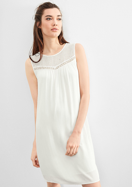 fe2741b401d Q S designed by Dámské krátké světlé šaty Doprava ZDARMA